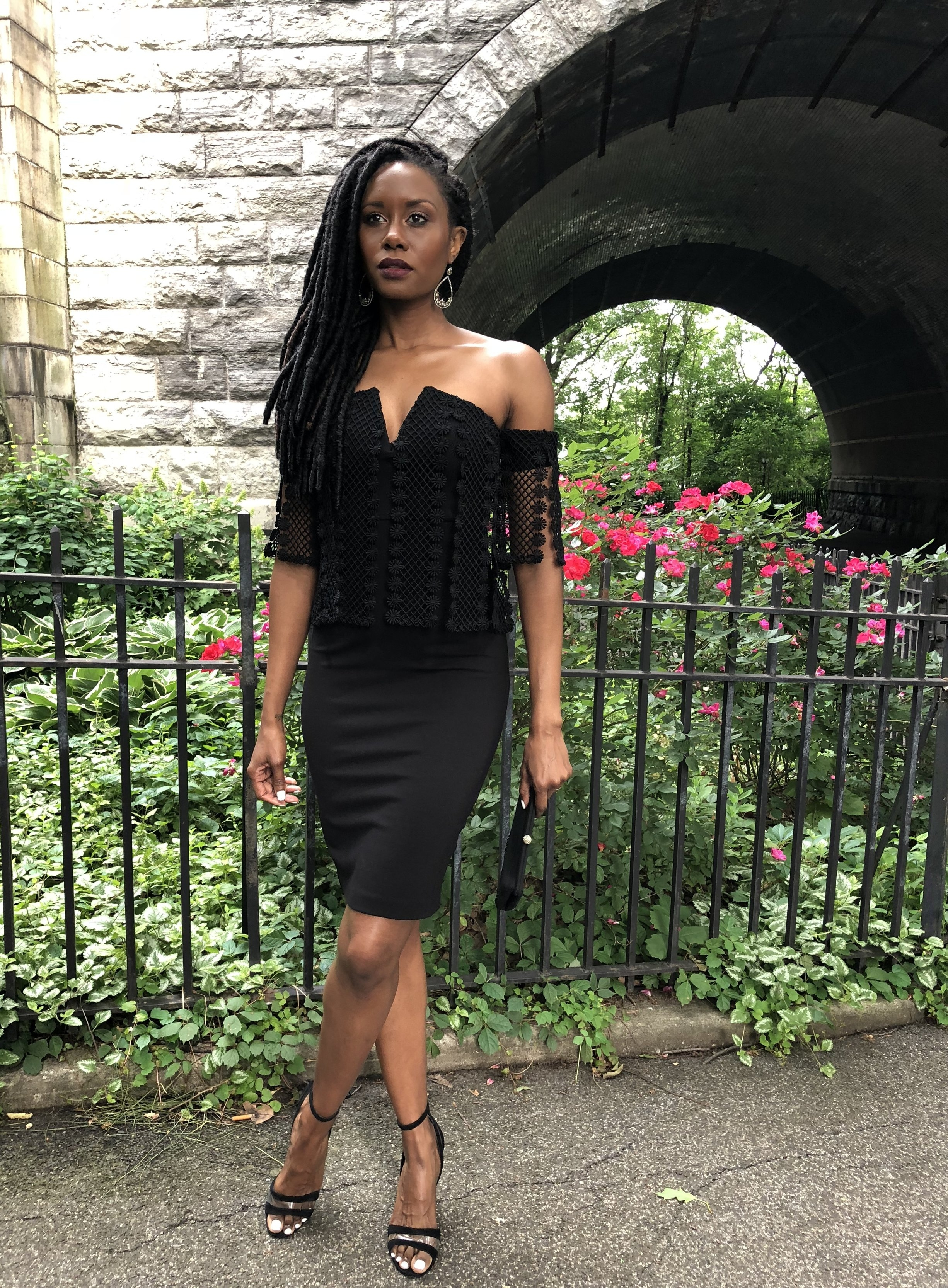 Black Sisley Dress by ELLIAT (www.elliattcollective.com)