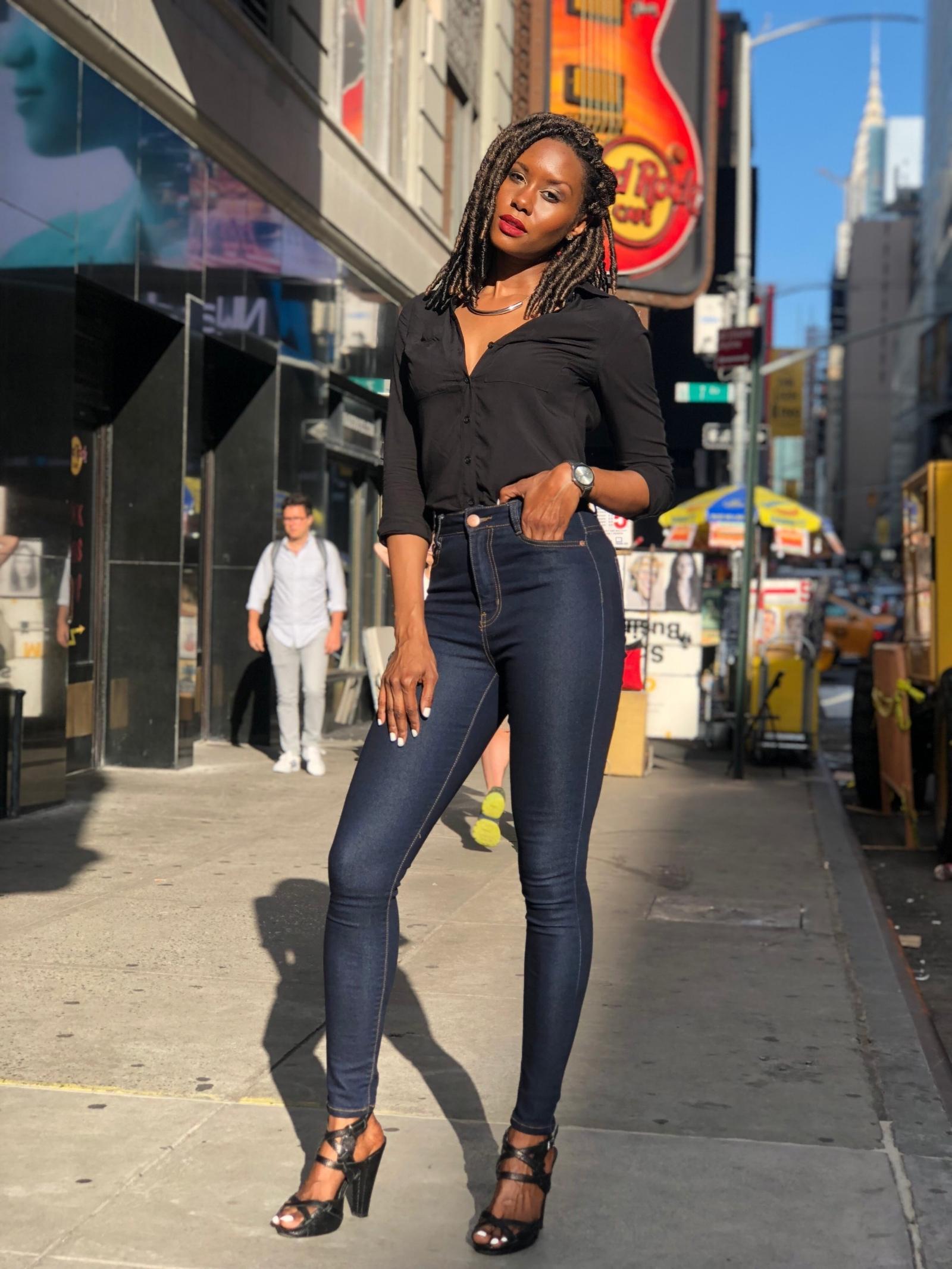 Fashion Nova  Top and Jeans