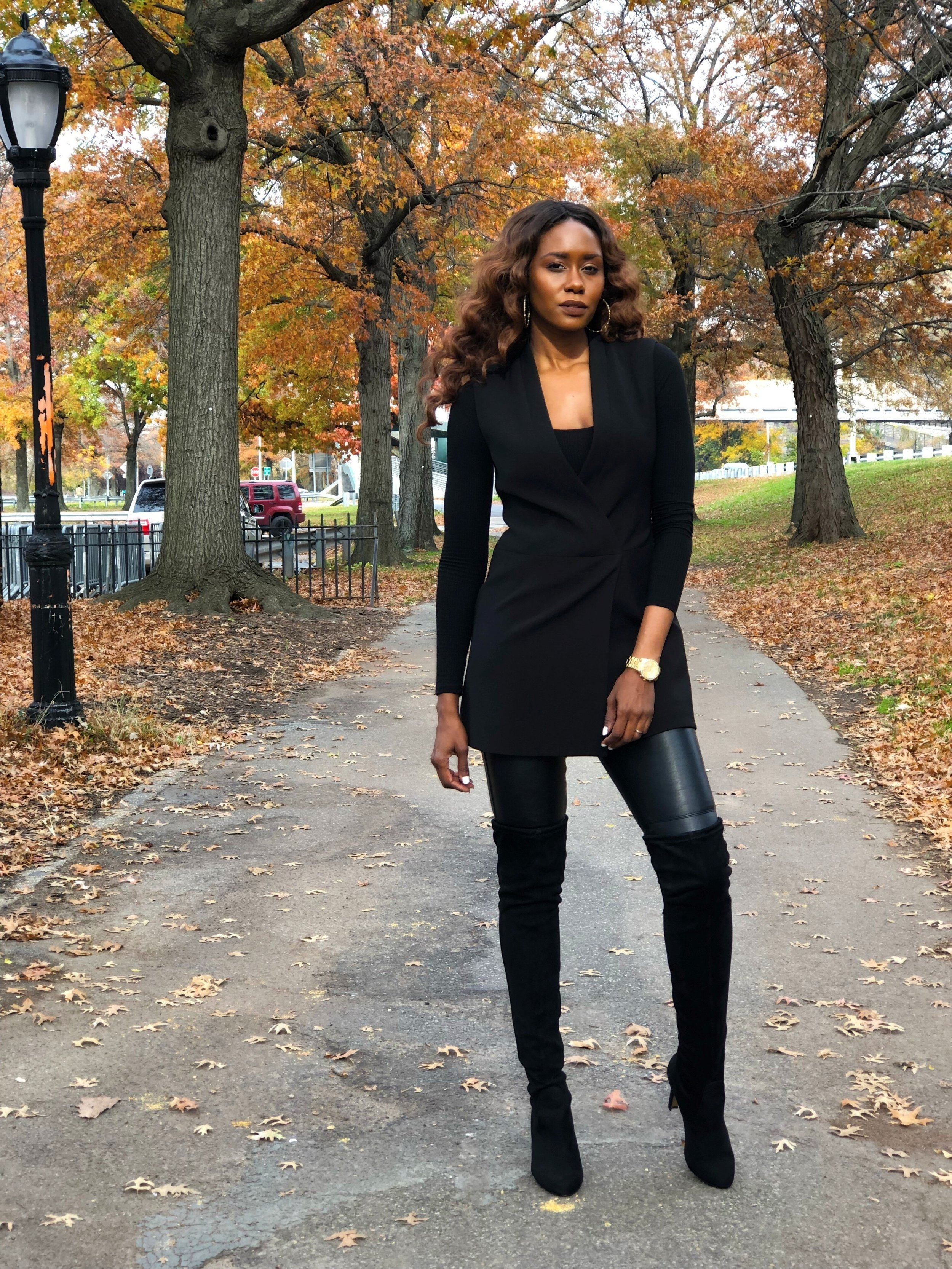 Ribbed bodysuits are great for layering all season long