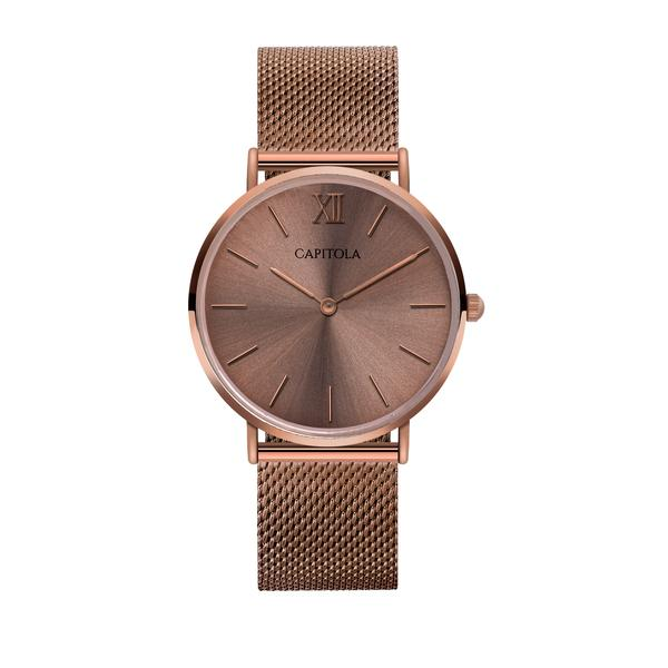 This coffee watch from the Mesh Collection is so beautiful