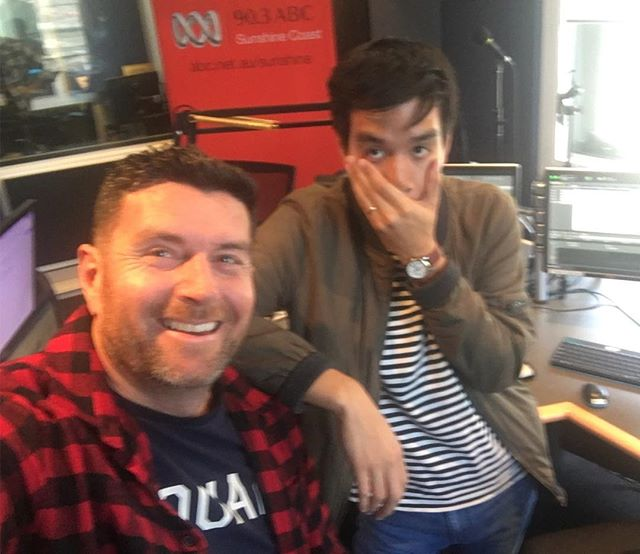 @timwongsee loves paneling when I fill in hosting on ABC radio Sunshine Coast. It's always smooth & chilled.