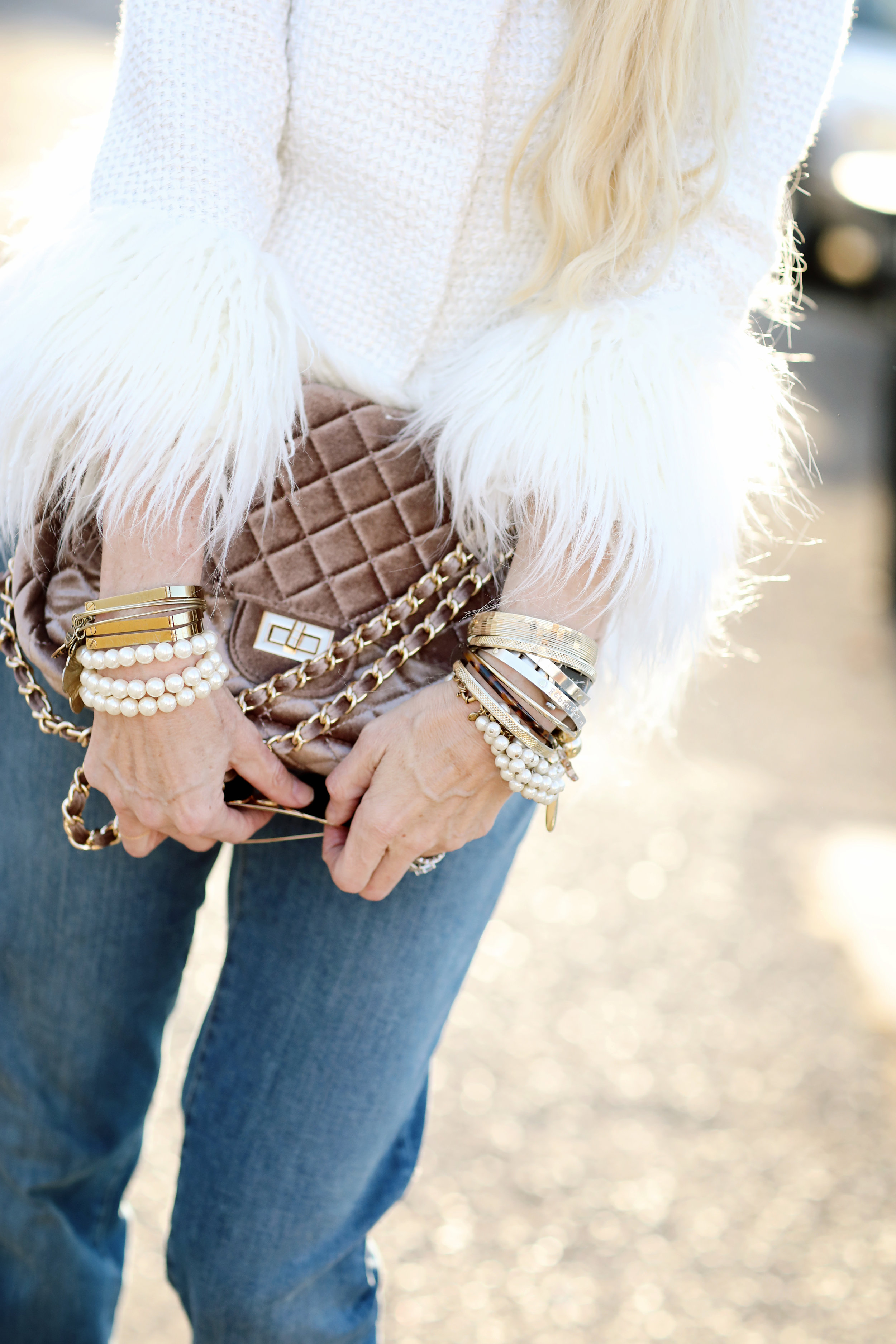 Fashion Blogger photo of jewelry.