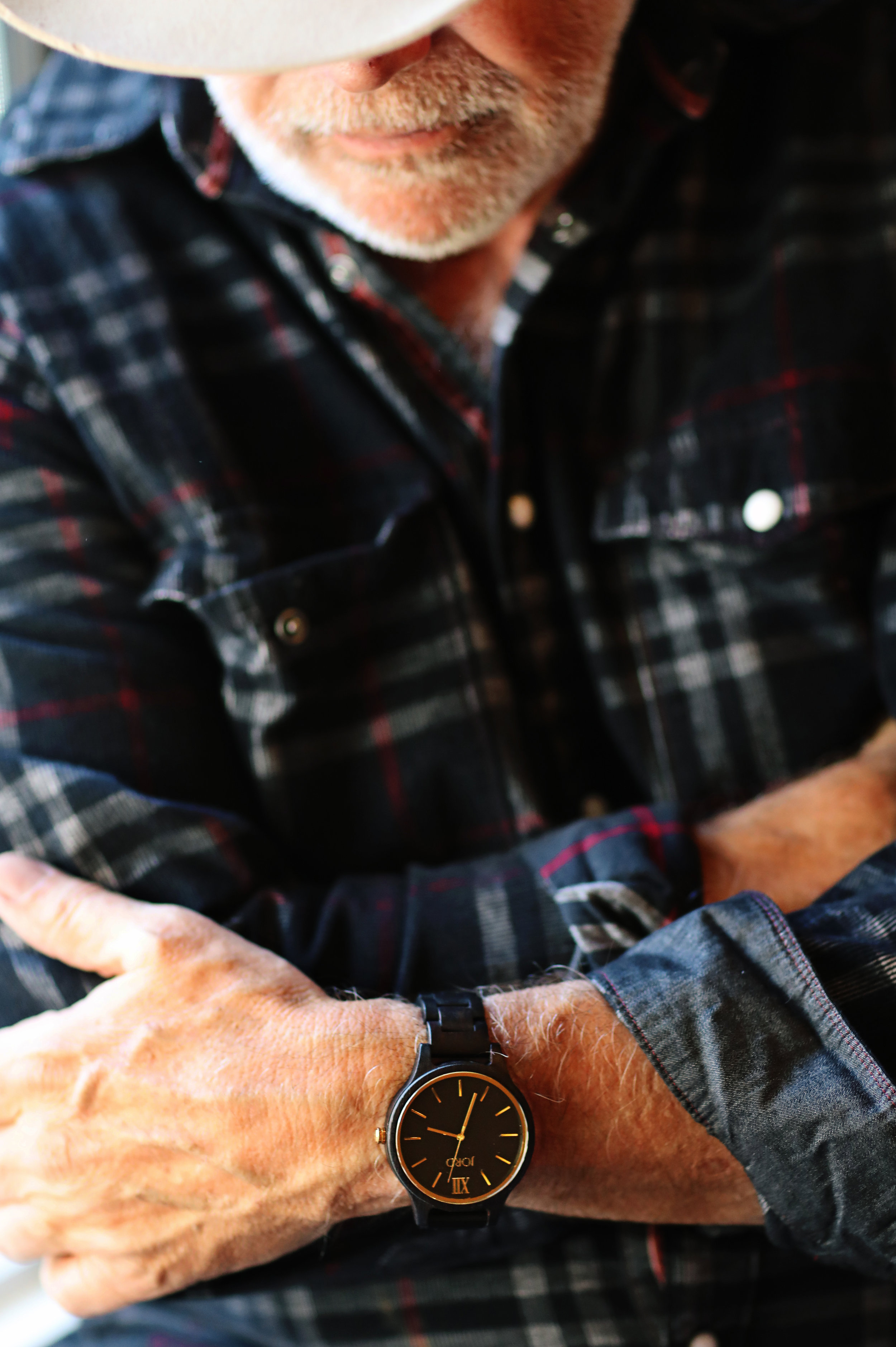 Photo shoot for  Jord wood watches.   Product photography