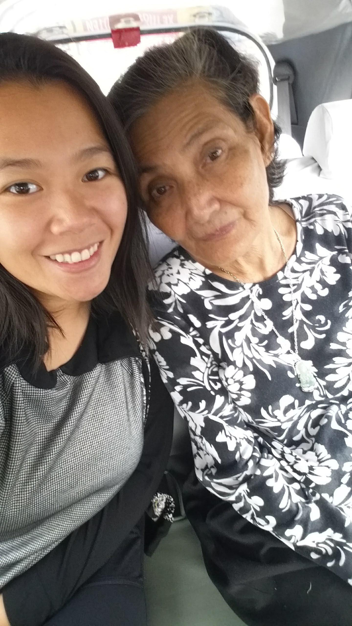 me & my kindred spirited grandma