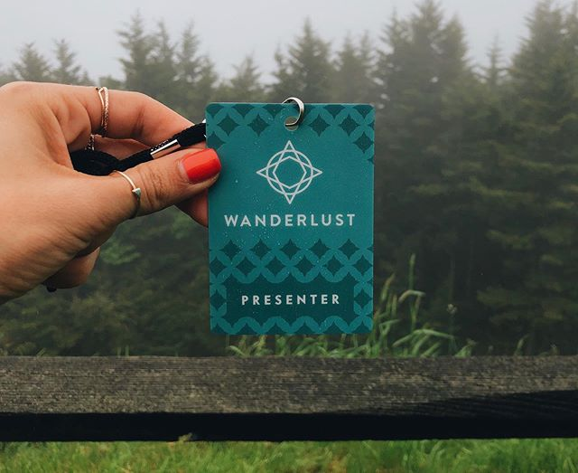 wandering in the wandercloud ✨ such a beautiful weekend nestled into the fog atop snowshoe mountain with @wanderlustfest my heart feels so full! big love xo