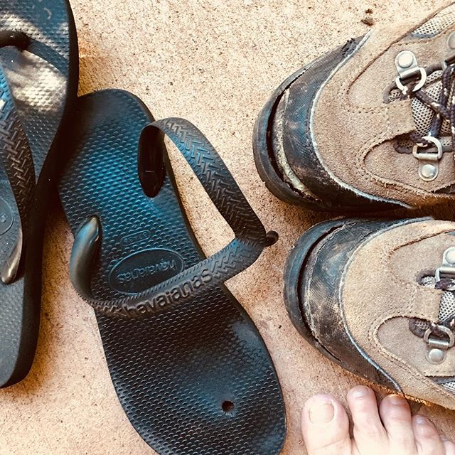 #BushShoes finished. Luck we're going home today. #TellingStory #borroloola