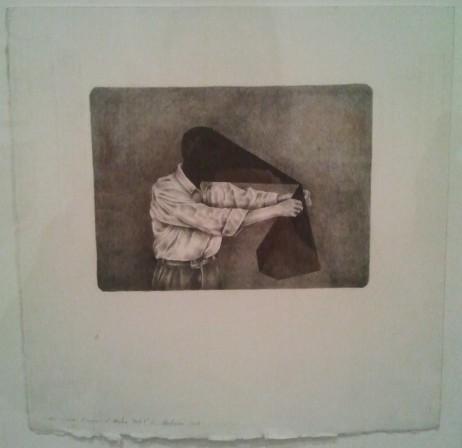 Teo Treloar, 'Black Geometry,' [iii of 3 drawings]
