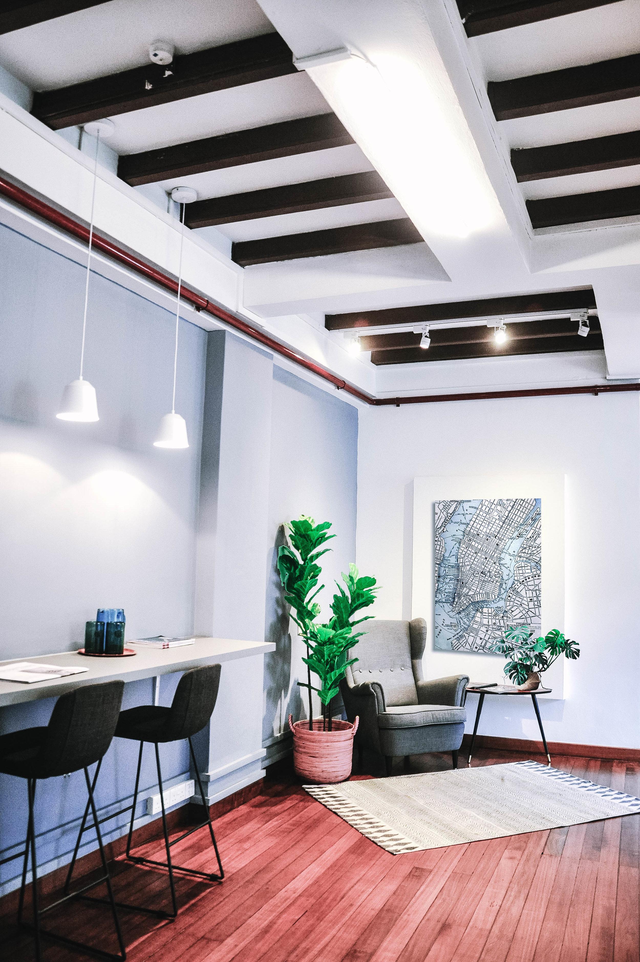 Cool Hip Urban Shophouse Office Design