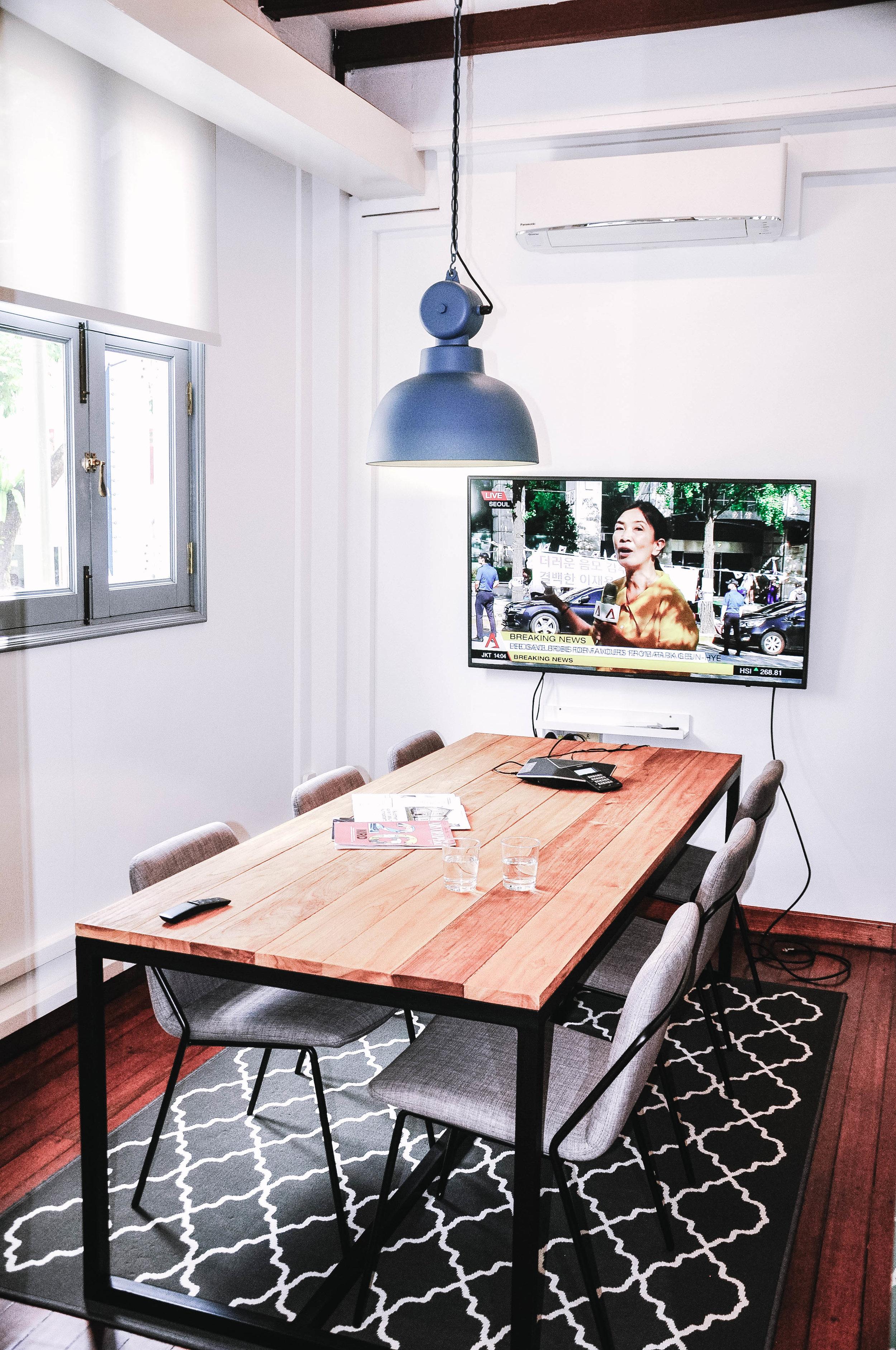 Modern Coworking Office Space Interior design