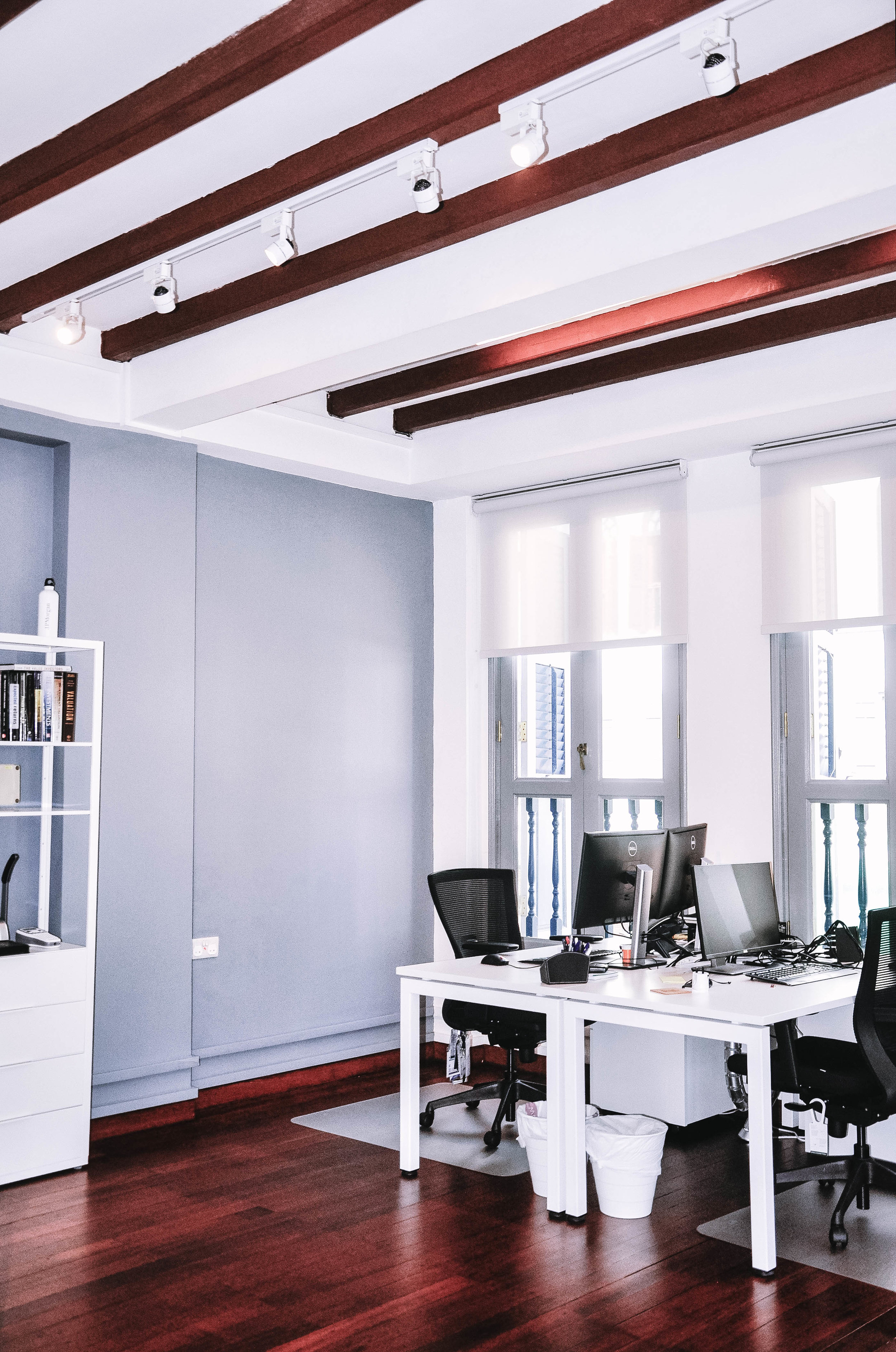 Shared Office Window Natural Light Shophouse Design