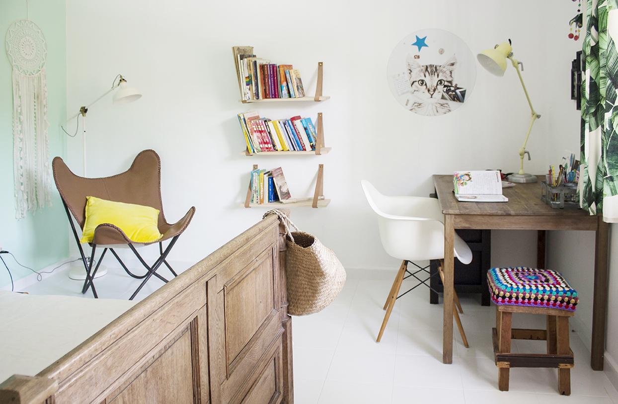 Cute Rustic Airy Minimal Kids Bedroom