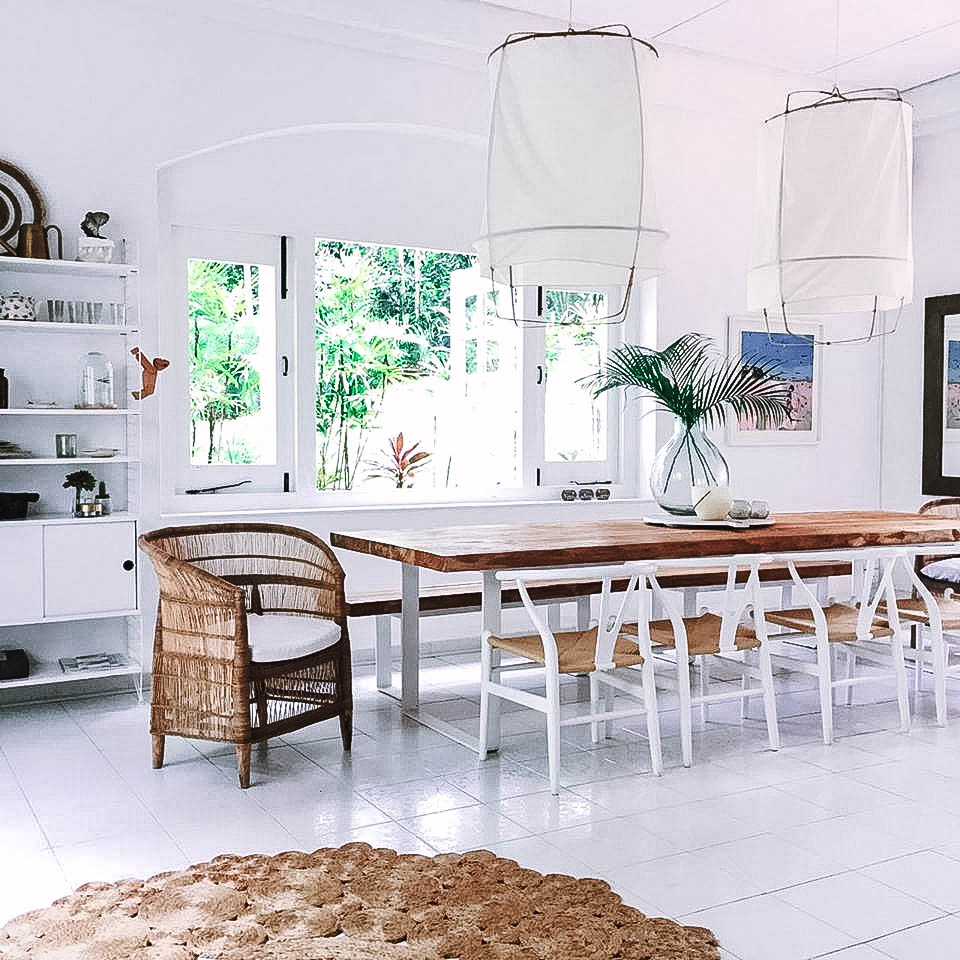 Giant Stylish Wooden Barn Style Dining Table