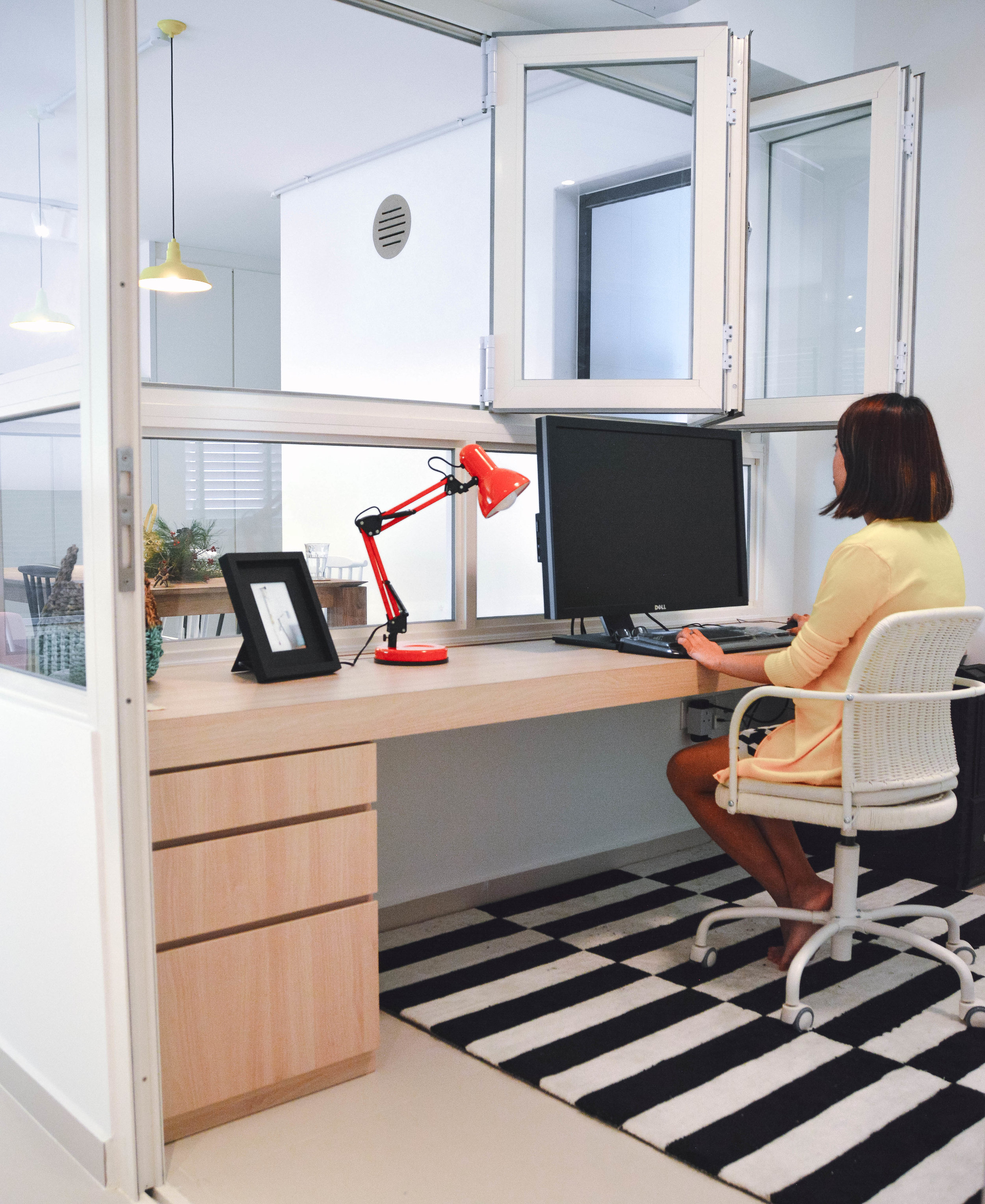 Cosy Home Office Workspace Corner