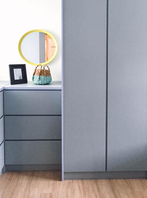 Simple Bedroom Storage Inspo