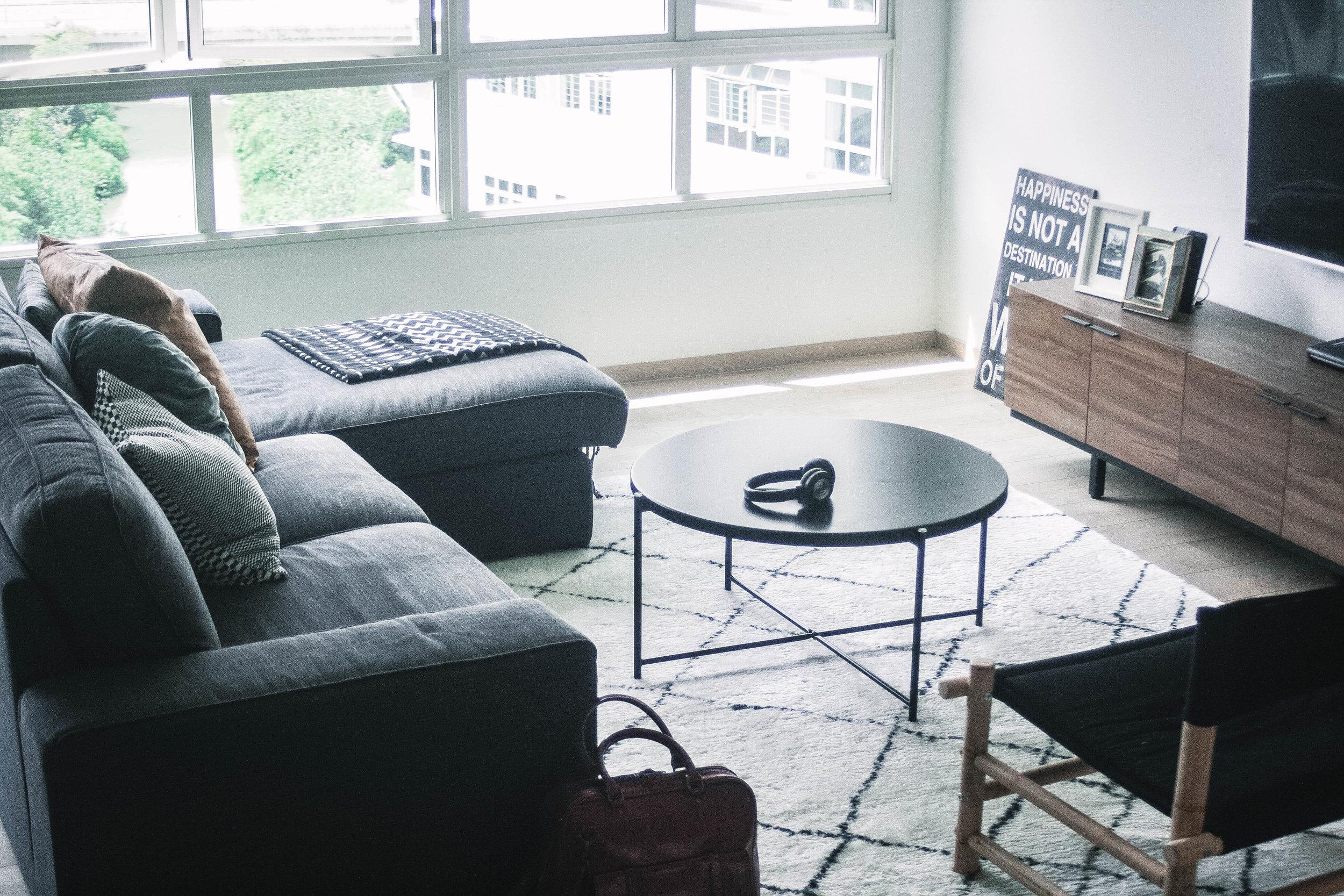 Cosy Scandinavian Living Room