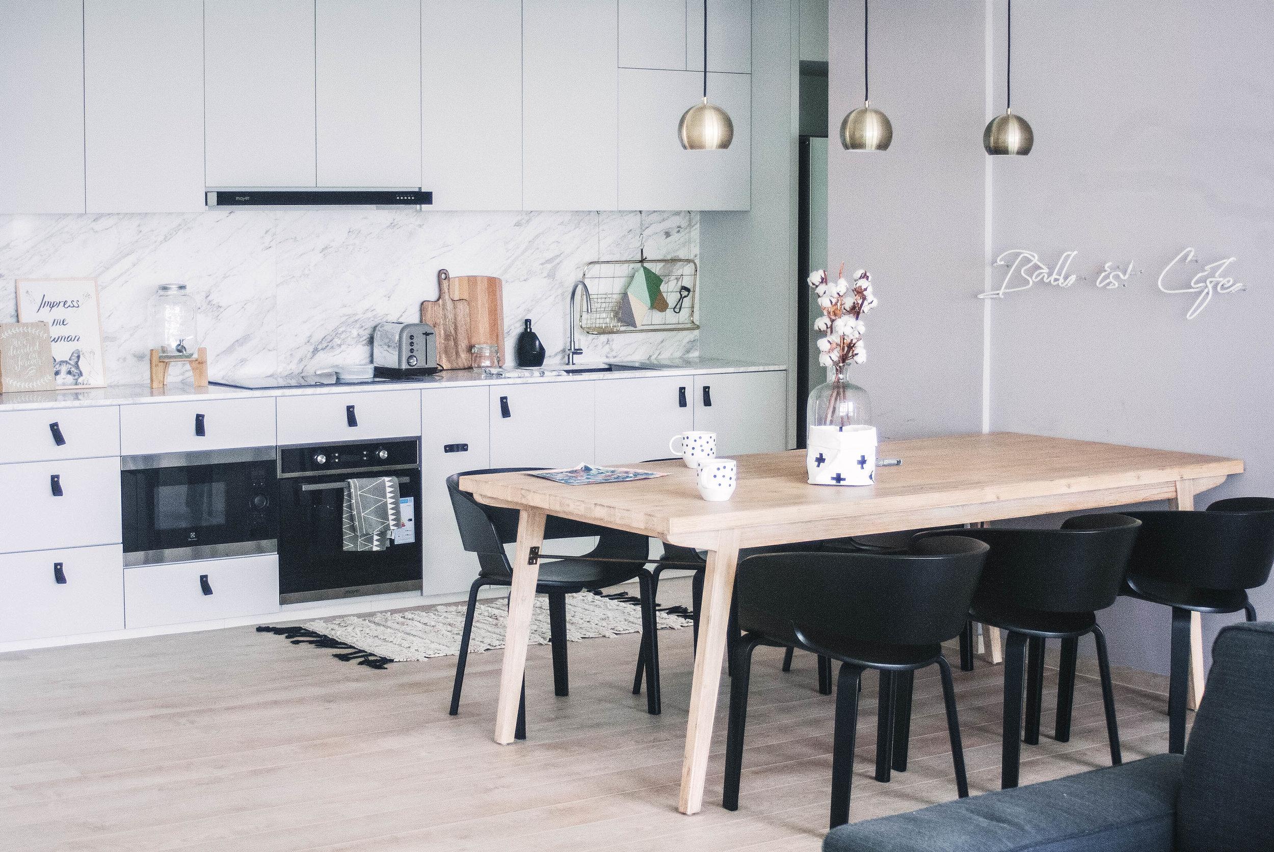 Stunning Open Kitchen Dining Room Interior