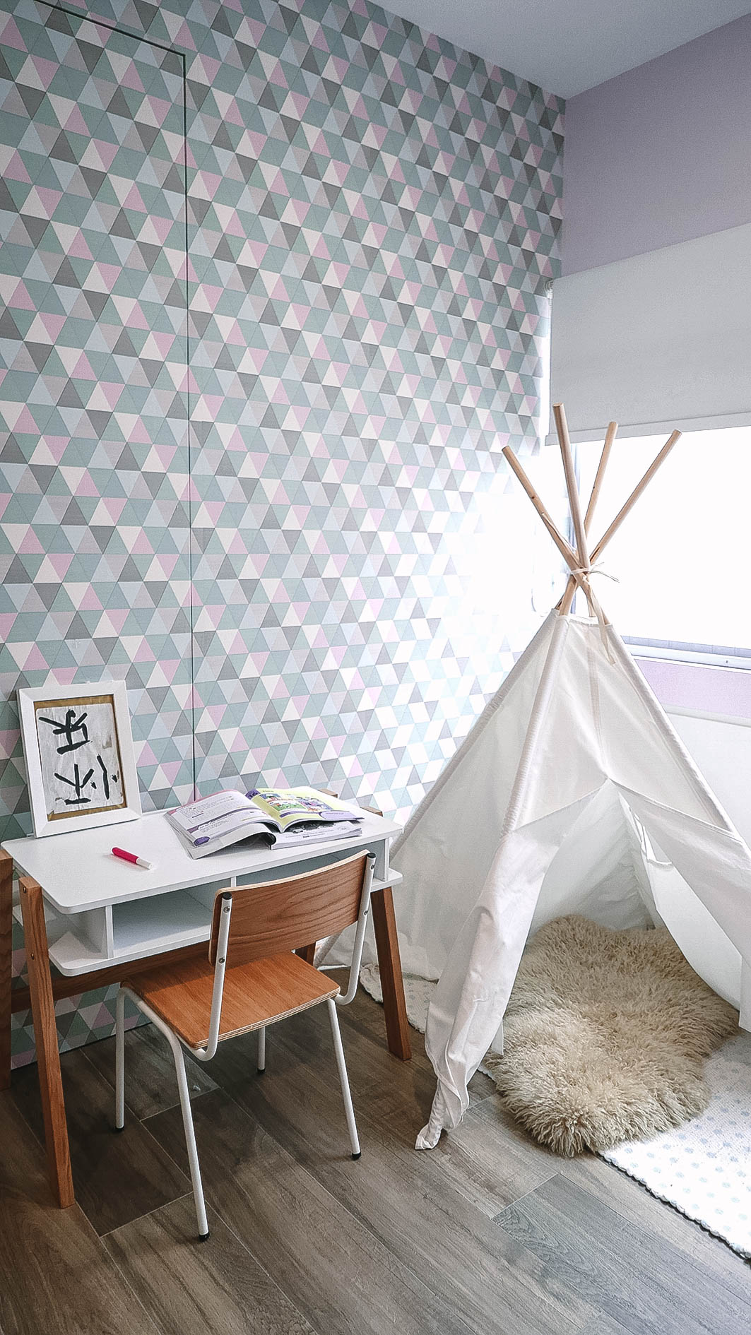 Cool Kids Room Teepee Play Area