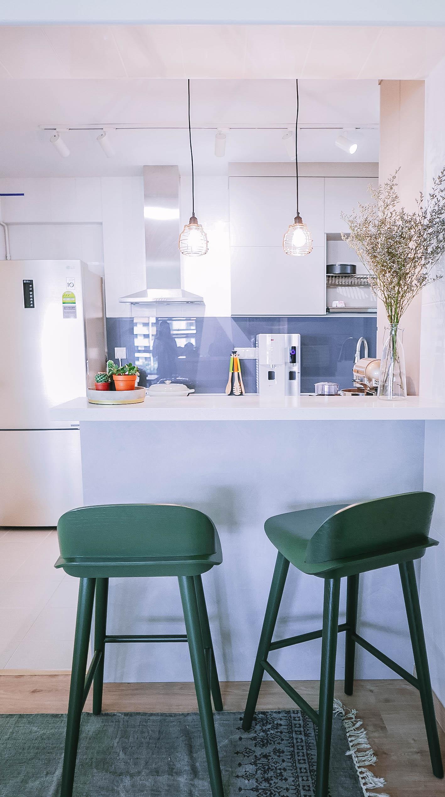 Kitchen Bar Counter High Stools