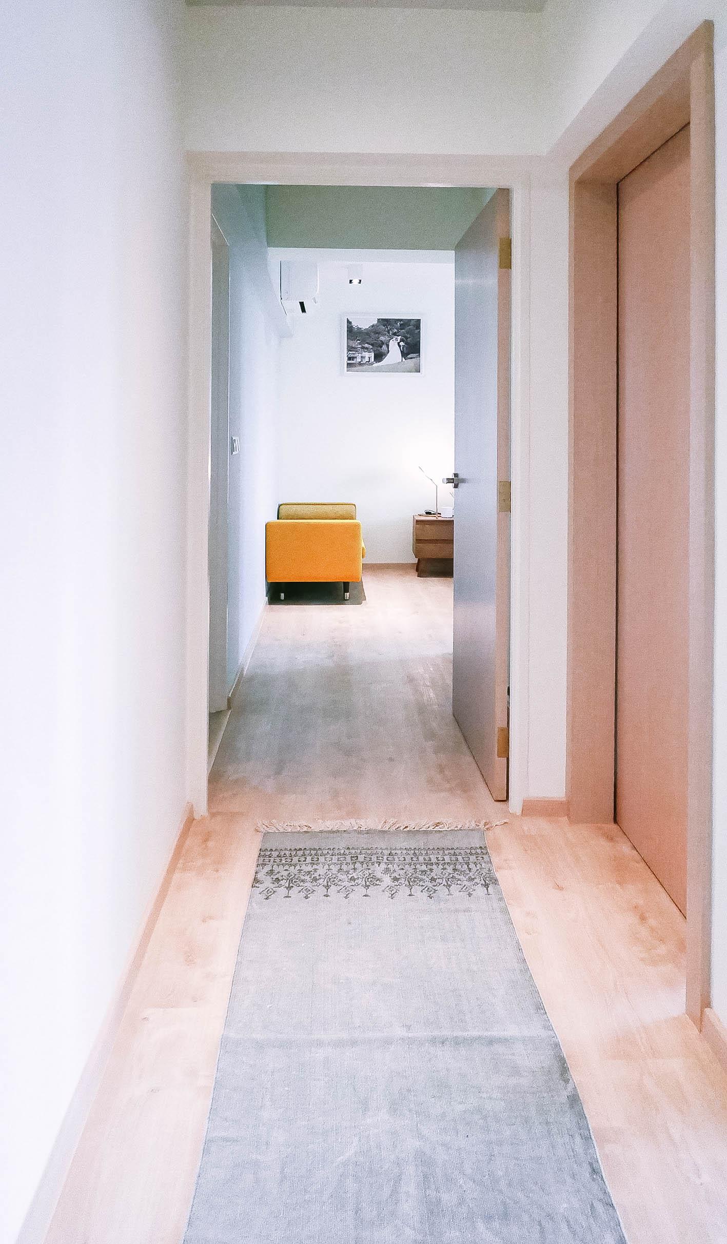 Apartment Hallway Interior Modern