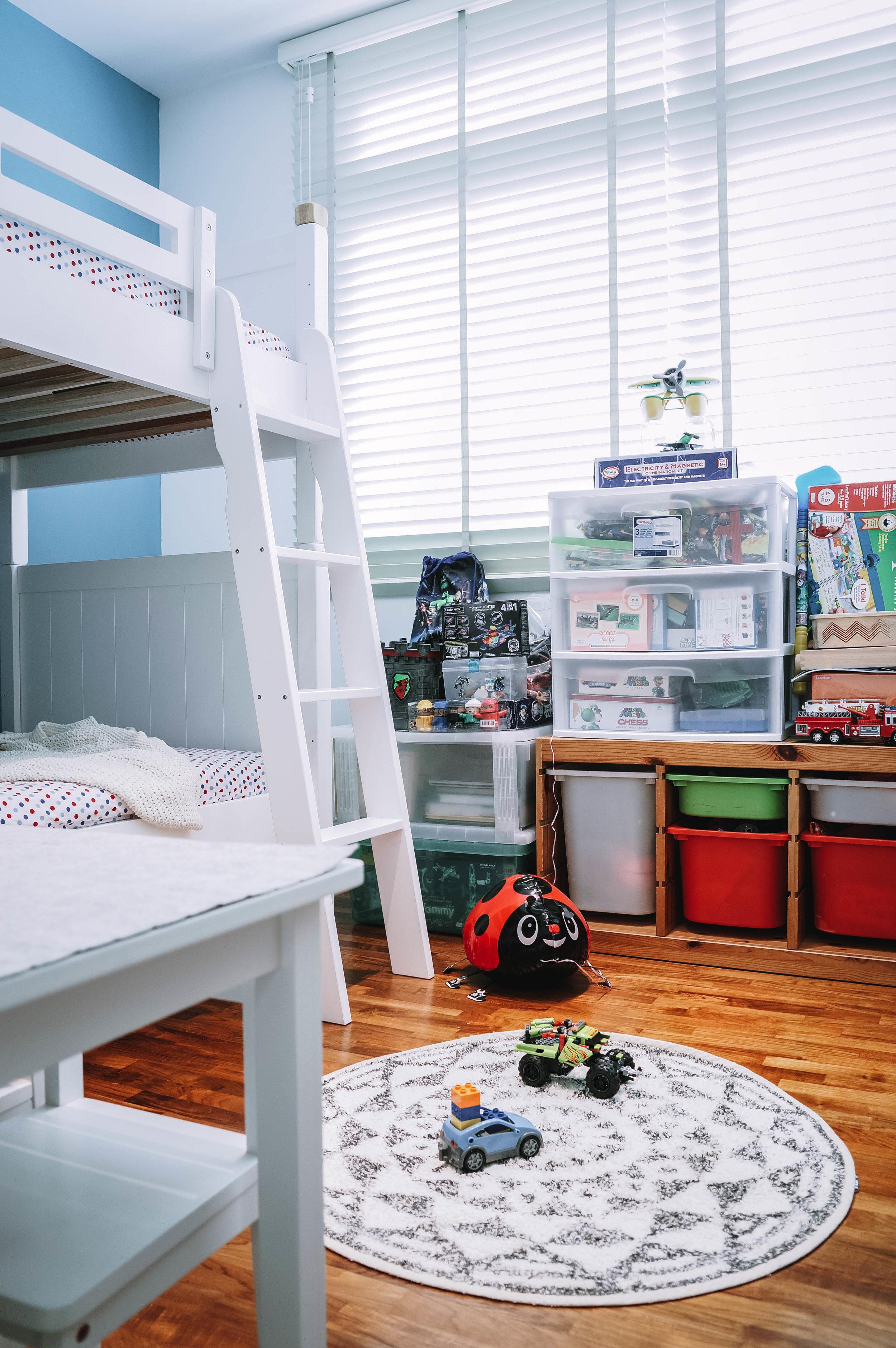 Cool Kids Bedroom Interior