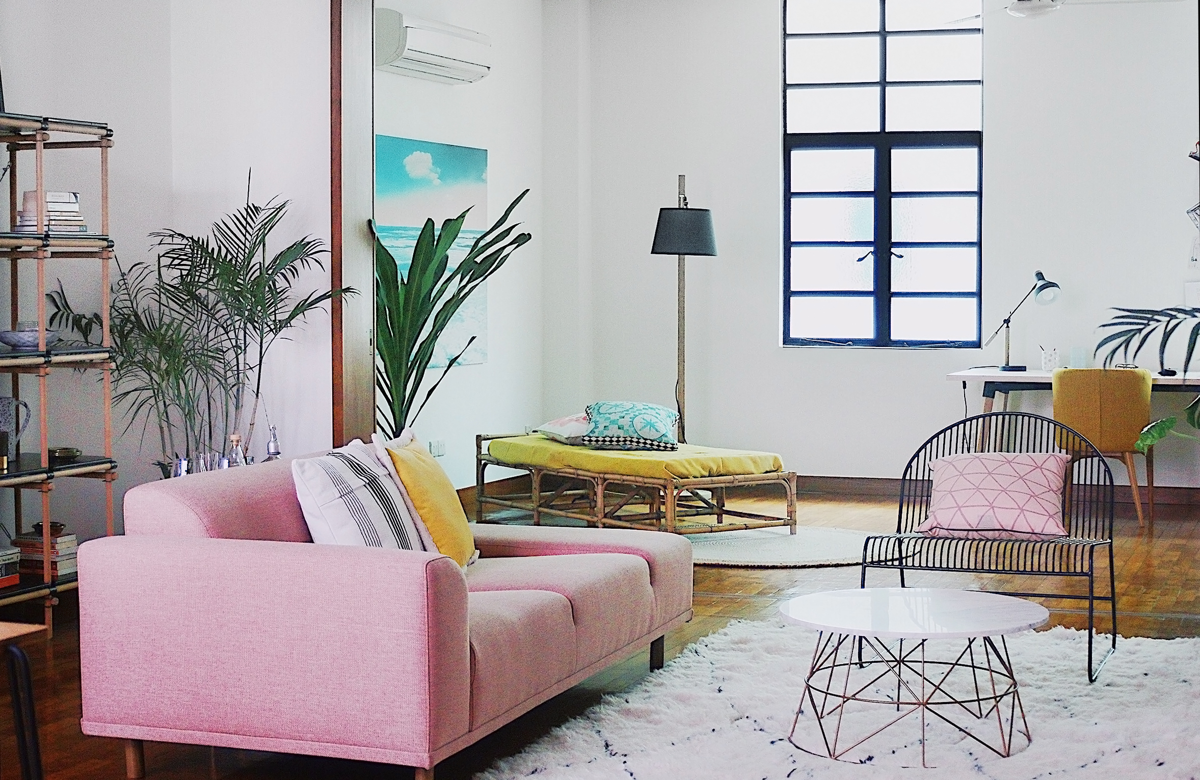 Boho Chic Apartment Interior Styling Instagram Worthy