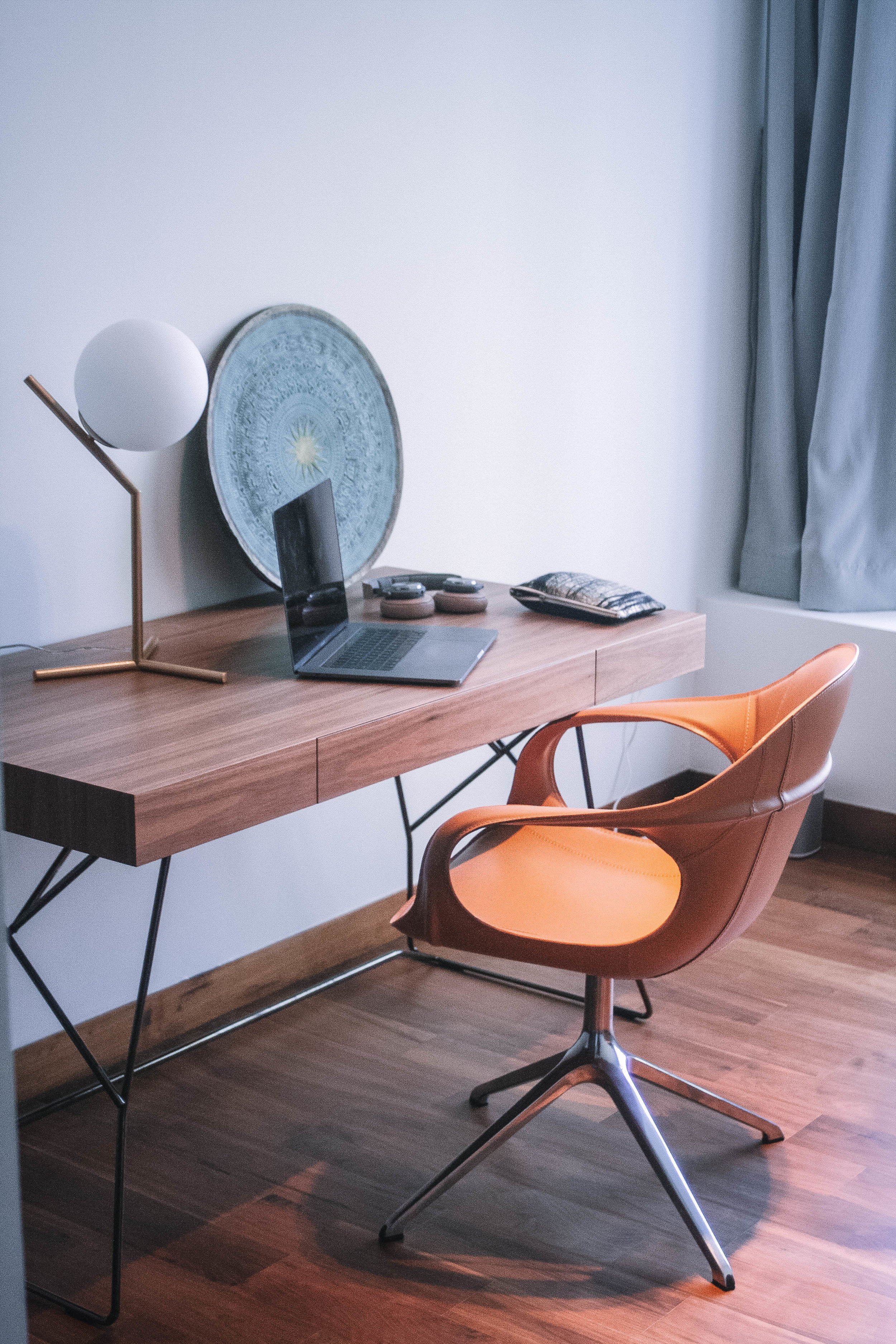 Cool Workspace Office Desk Bachelor Pad