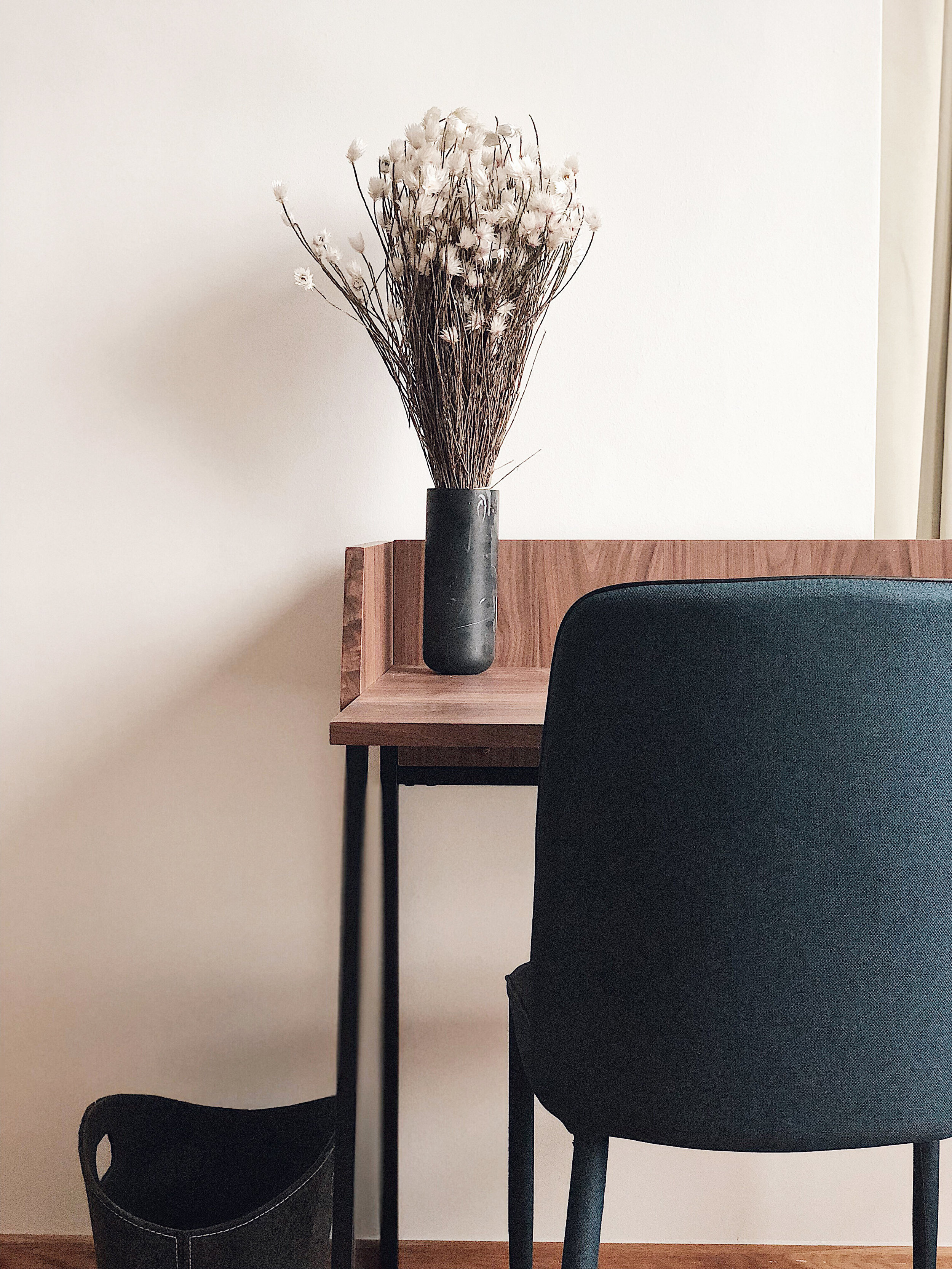 Minimal Wooden Work Space Desk