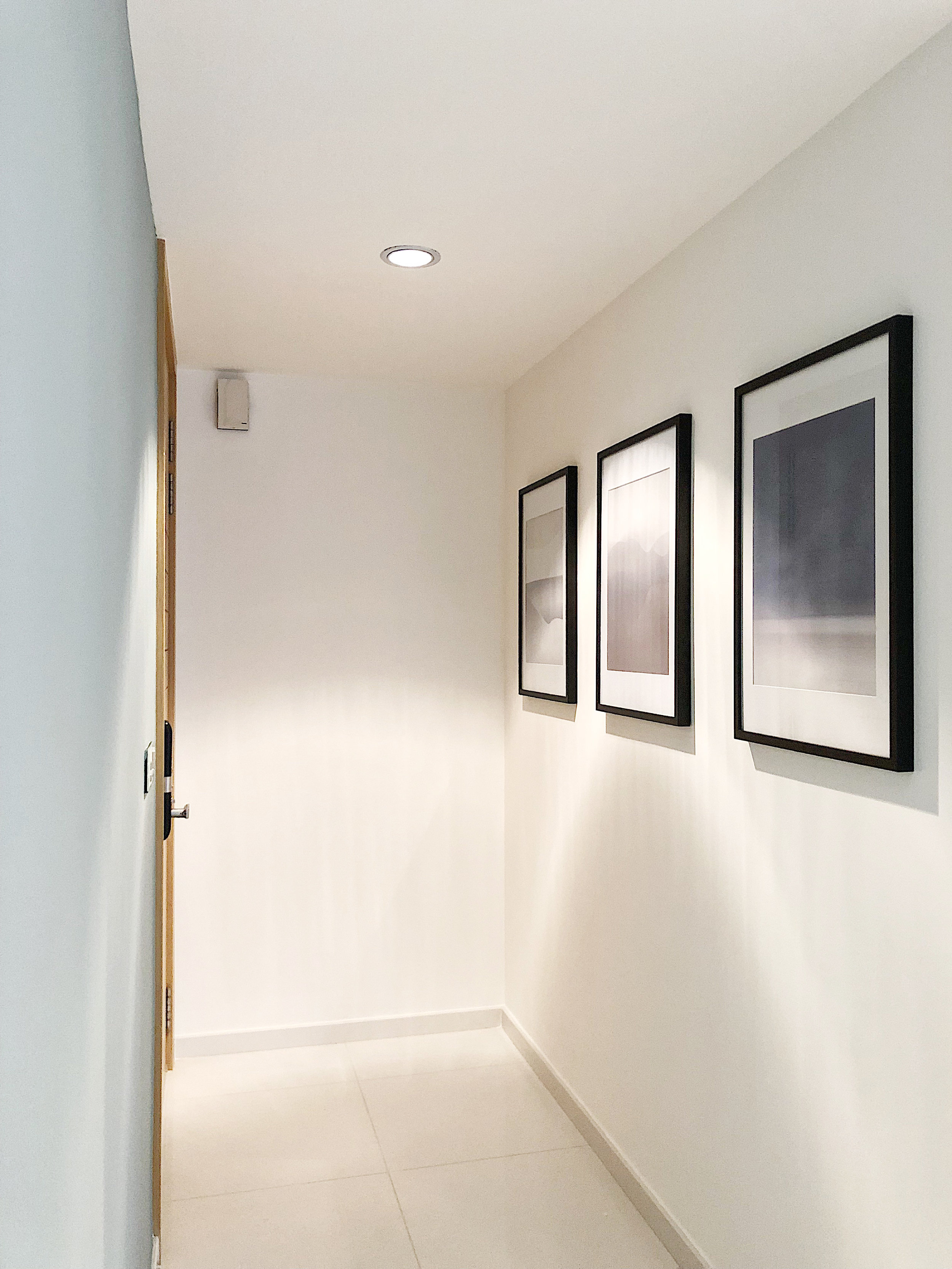 Simple Hallway Poster Artwork