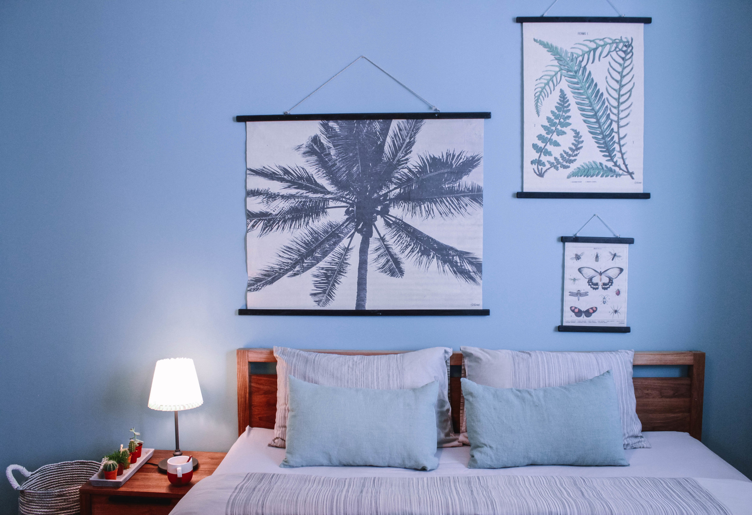Blue Obsessed Home Makeover