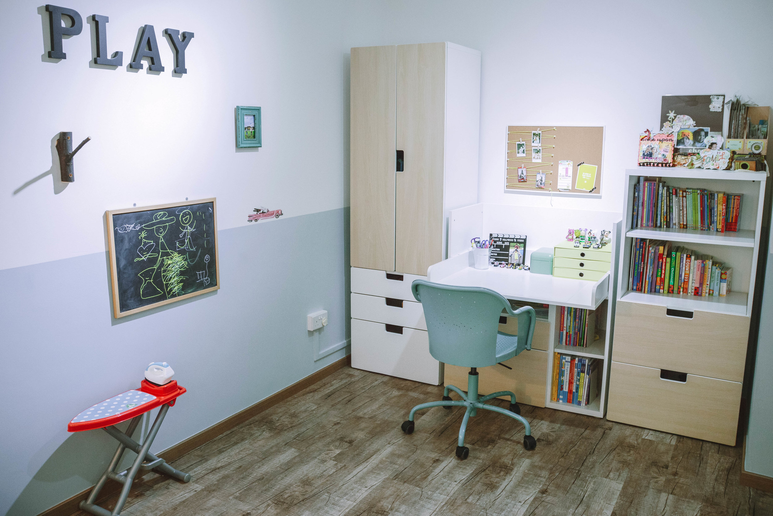 Quirky Colourful Kids Playroom