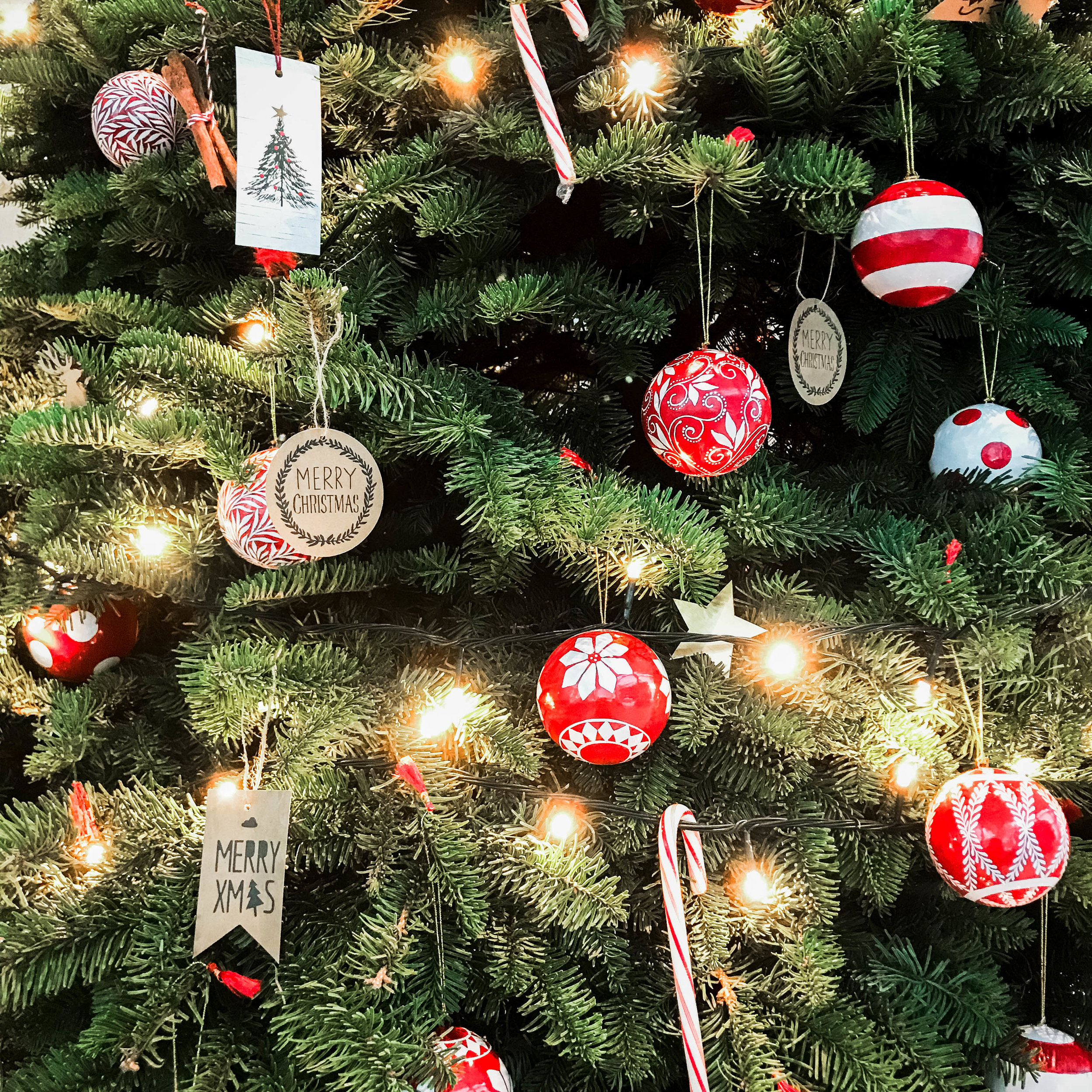 Modern Fun Christmas Tree Decor Ornaments