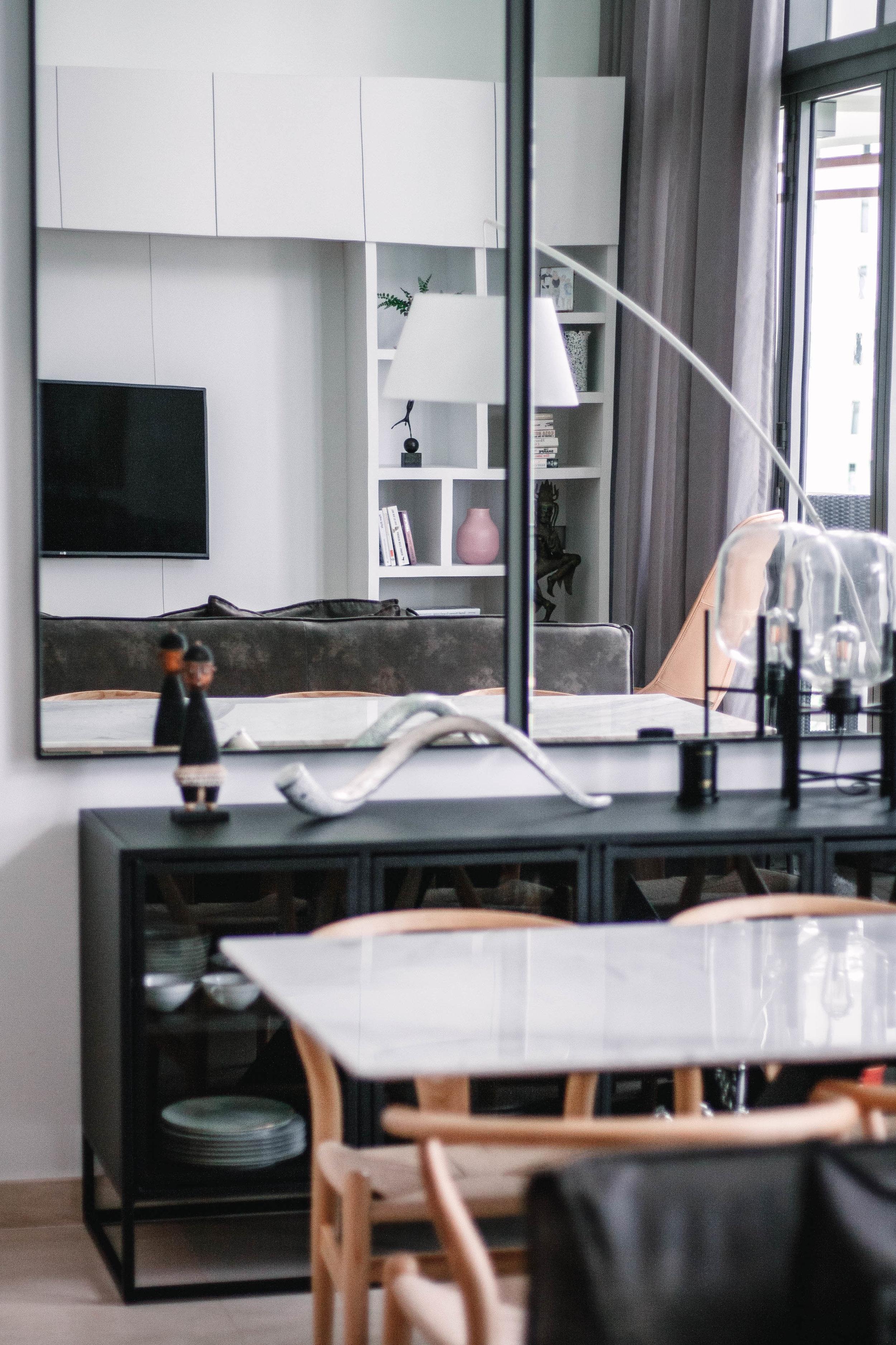 Common Area Minimal Apartment