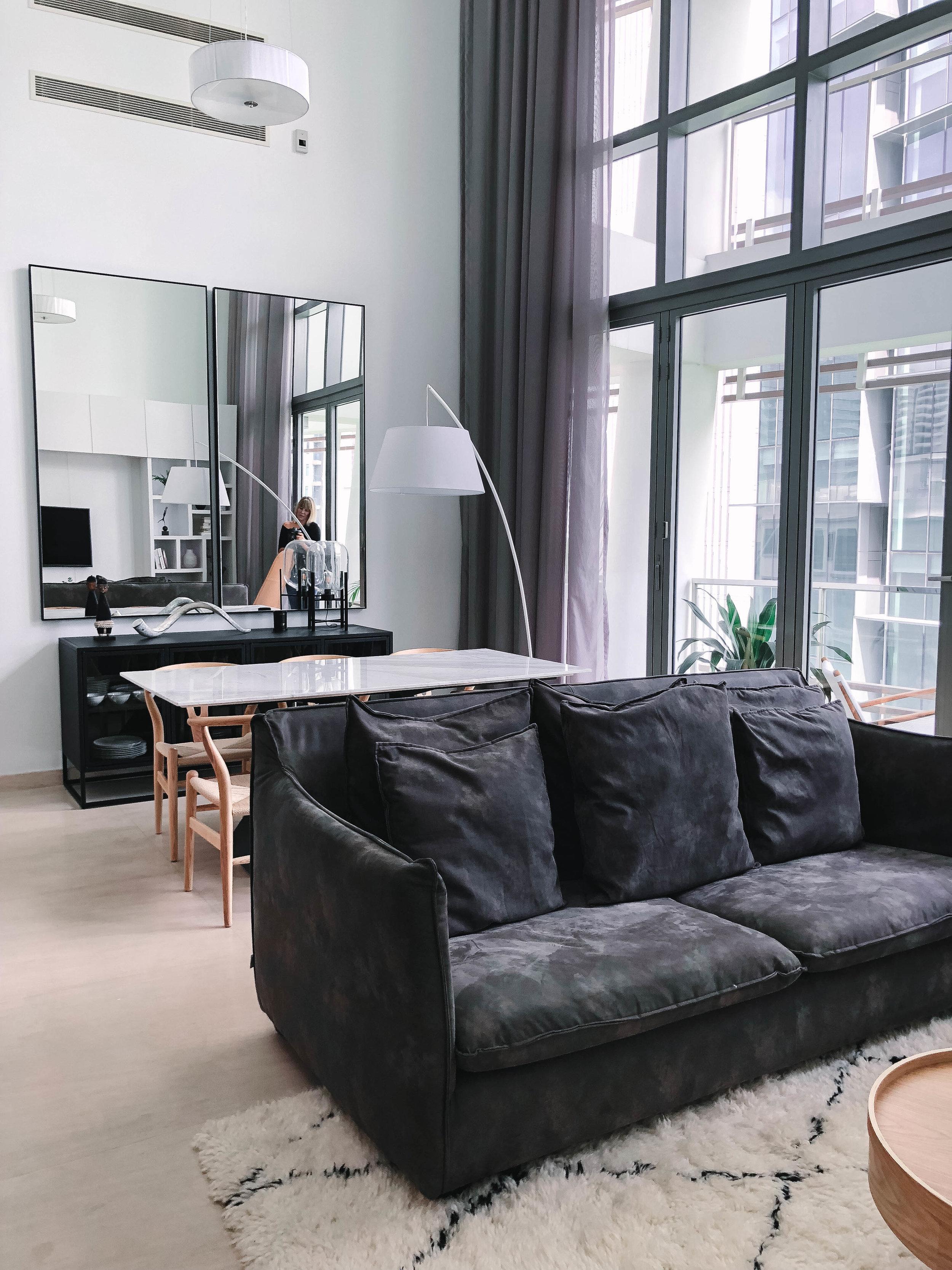 Neutral Colour Palette Loft Apartment