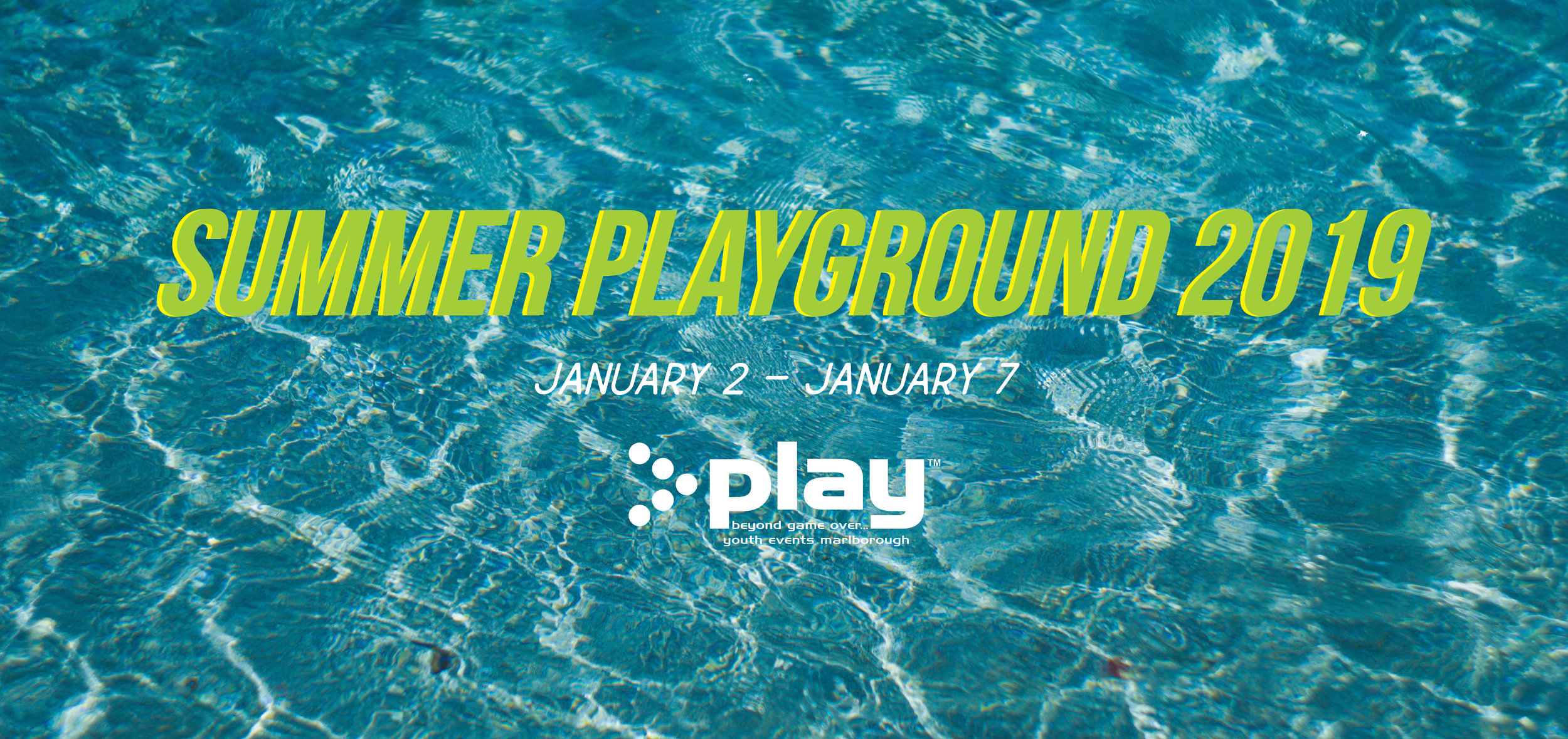 Check out the Summer Playground Facebook page for more information and to register  www.facebook.com/summerplayground