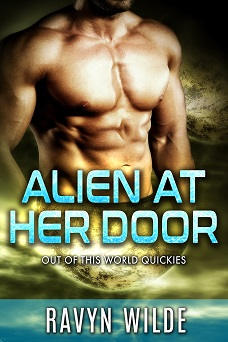 The story Guardian alien is one of three stories in   Alien at her door