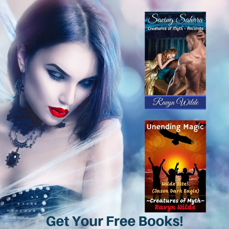 Get Free Books - Exclusive Content - And information on promotions! - Ravyn Wilde Newsletter