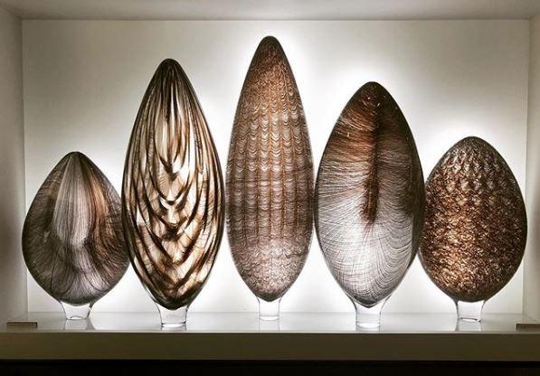 Danish glass artist Tobias Mohl for Adrian Sassoon