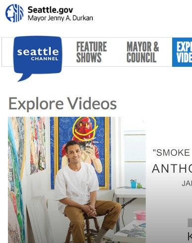 Seattle Channel Art Zone: Winter Art Preview