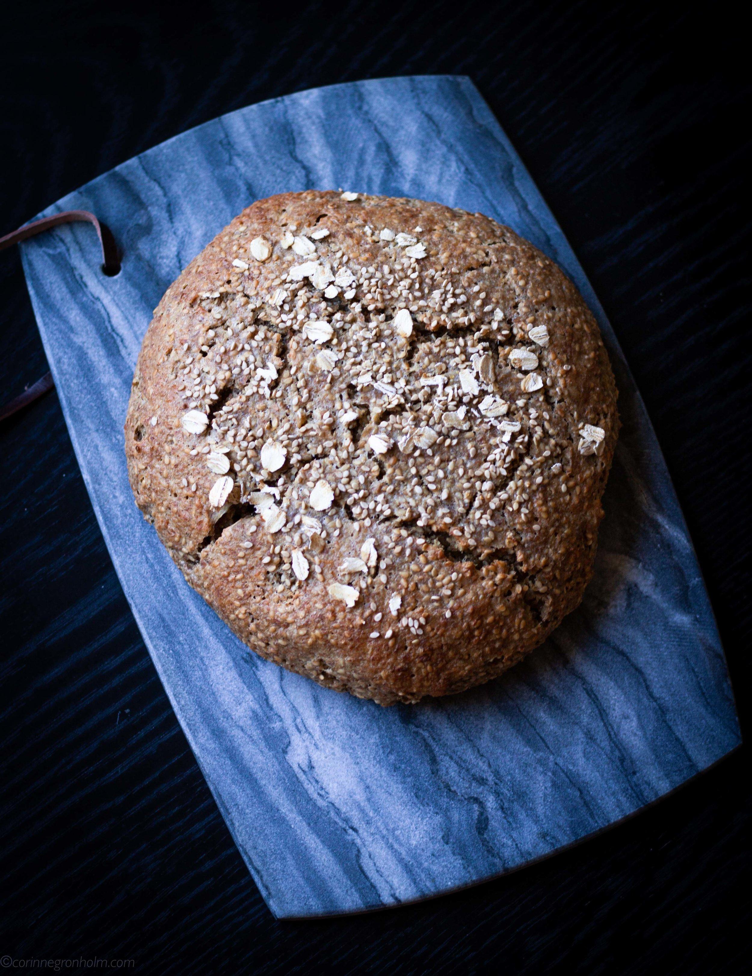 Underbart kalljäst bröd
