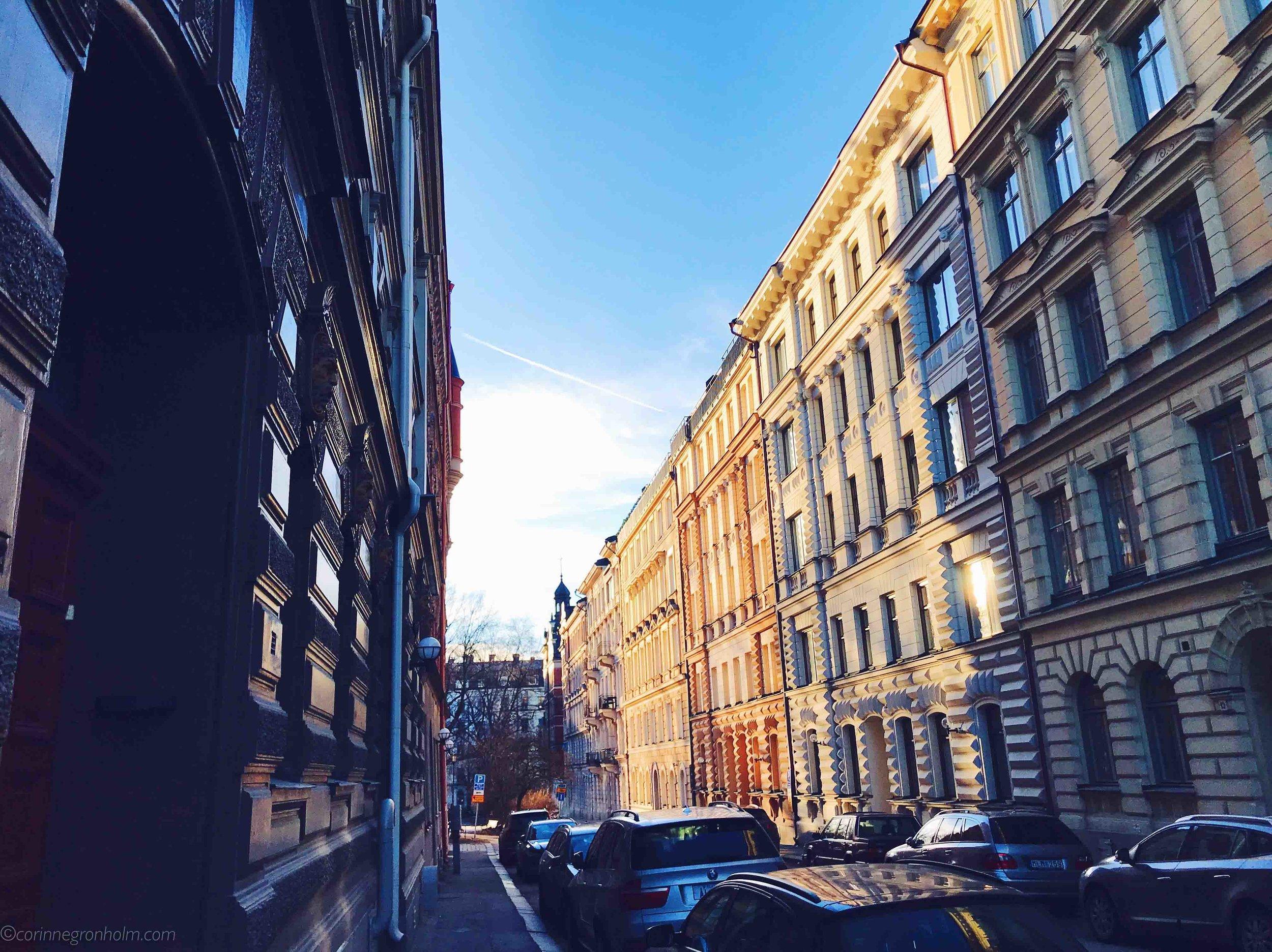 Magiskt vacker i lördags i Stockholm!
