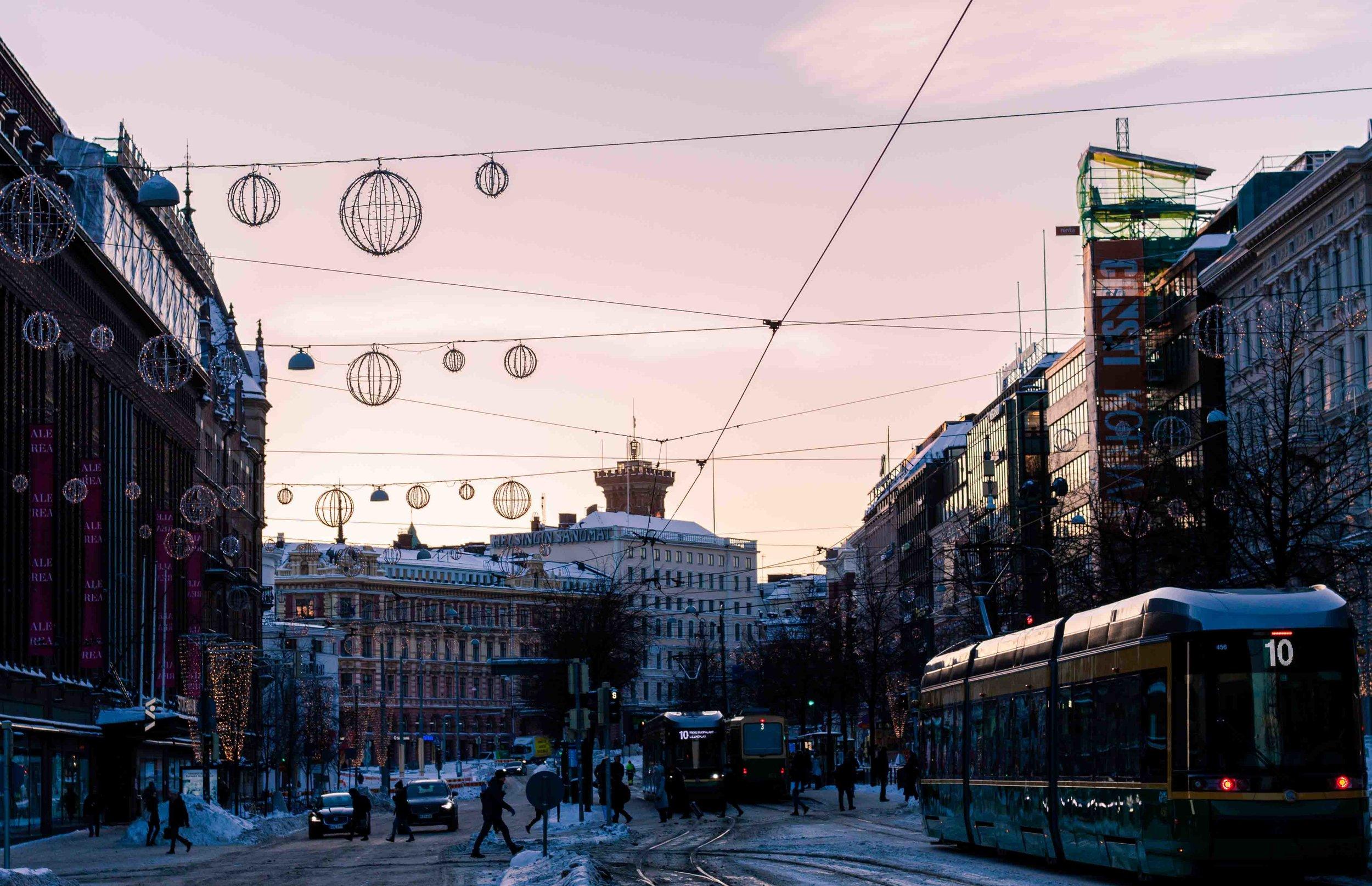 Den magiska staden Helsingfors