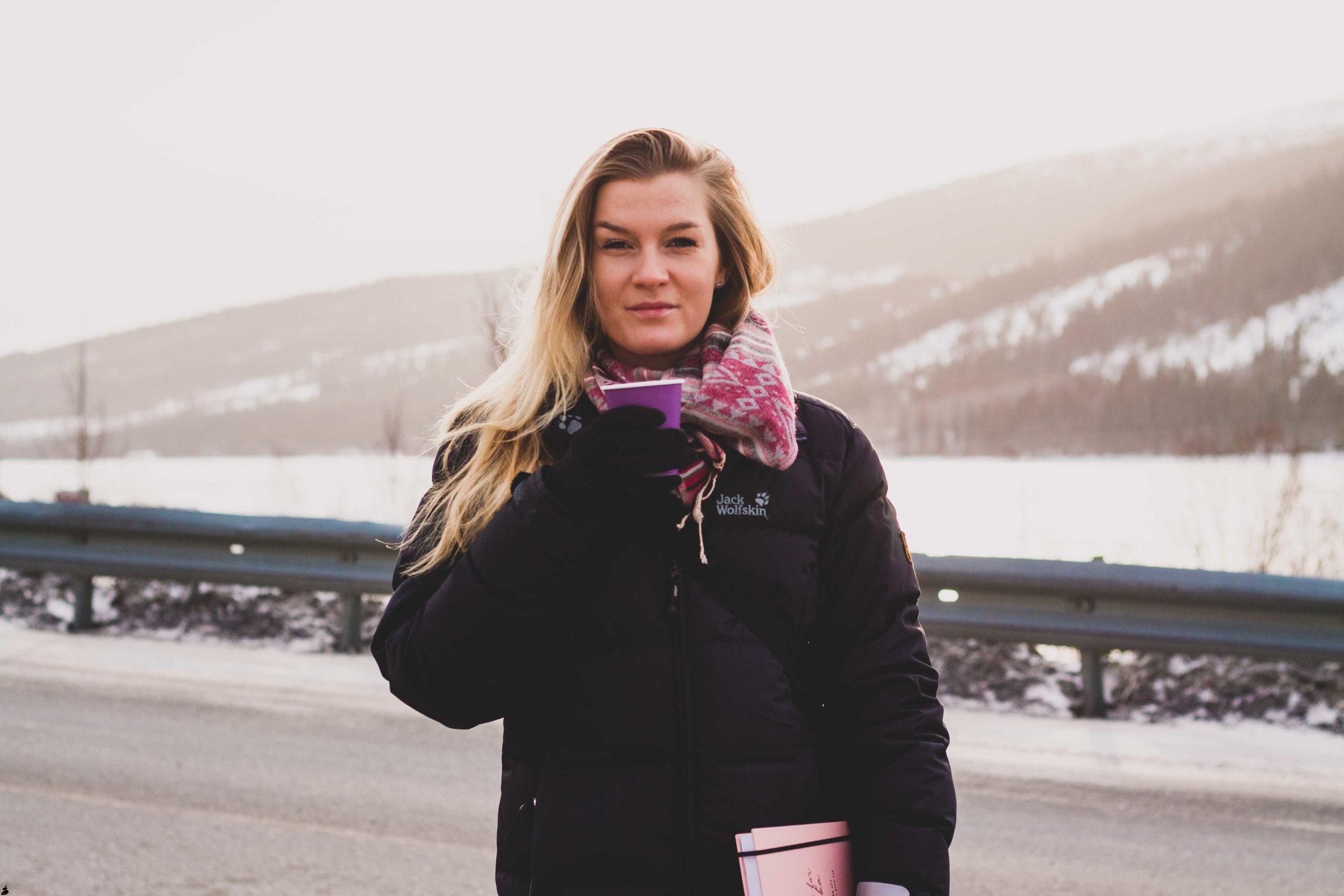 Blogginlägg om att våga vara sig själv