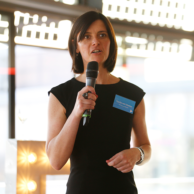 Hanlie Van Staden, Transformation Director; Old Mutual Wealth