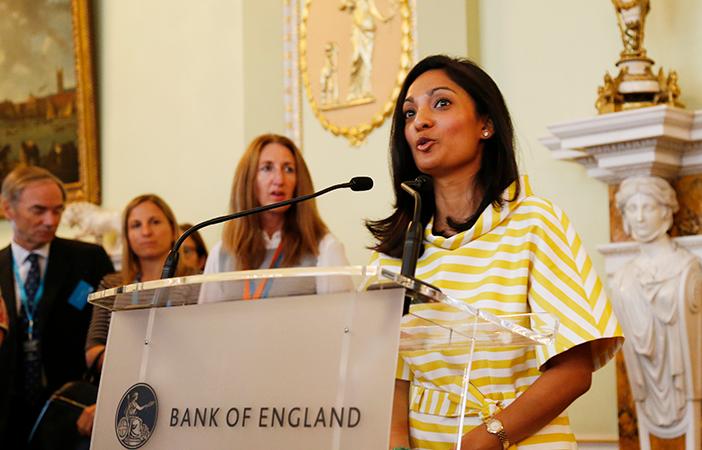 Ranjani Kearsley, Head of HR - Financial Services;  Fidelity International