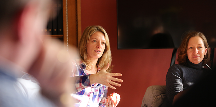 Emmajane Varley,Global Head of Communications, HSBC Private Bank;  HSBC