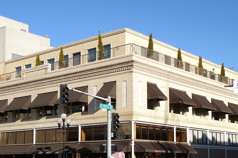 Evergreen Roofing - Downtown Athletic Club