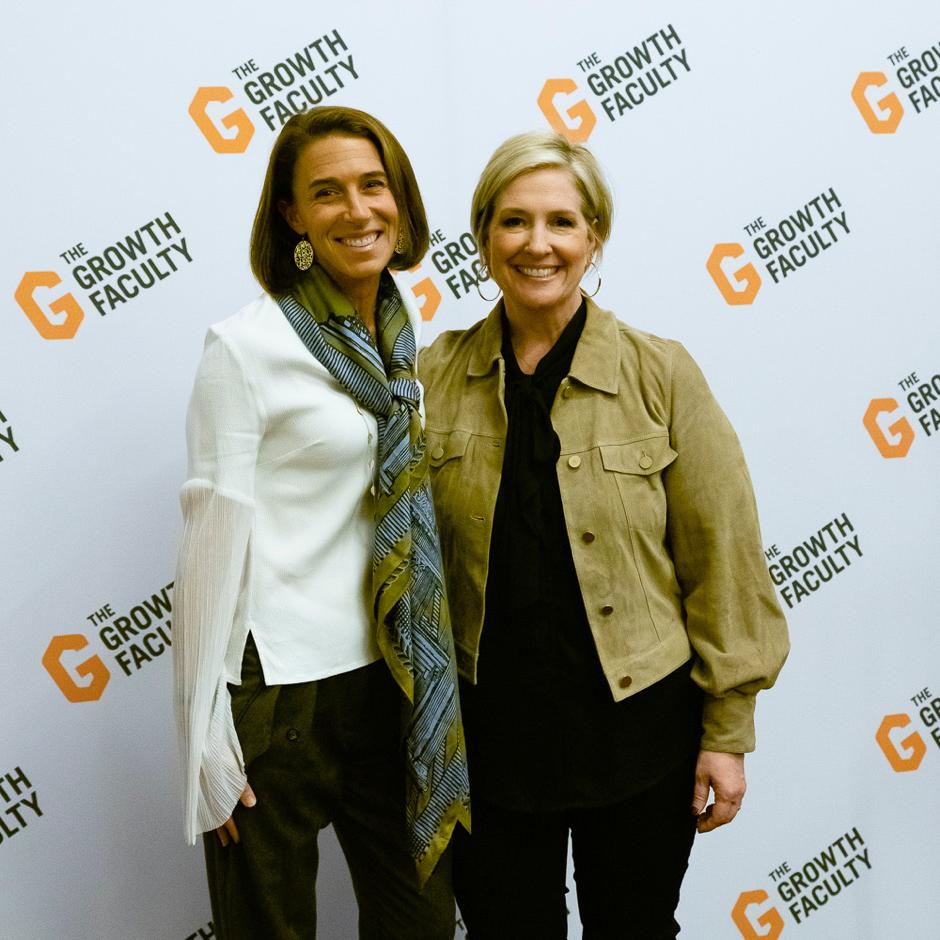 Dr Deb Roberts and Brené Brown