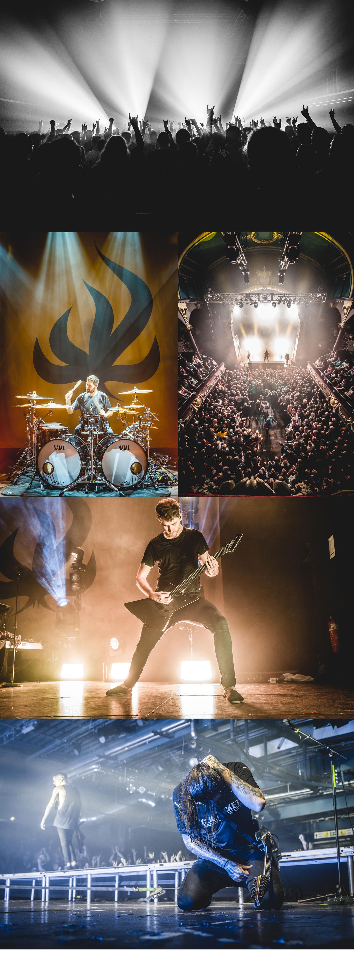"""Bury Tomorrow """"Black Flame - European Tour 2018"""""""