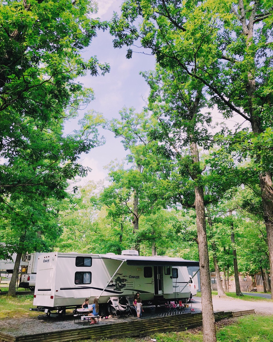 Staying Full-time at Campgrounds for $200/month - By Stephanie Byrnes