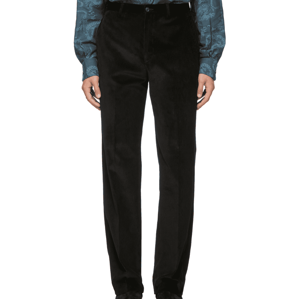 COBRA S.C. MASTER CORD TROUSERS - Corduroy is easily the most popular fabric of 2018. The fit on these is as classic as the fabric.SELLOUT RISK: LOW MED HIGHPurchase now at ssense.com for $500.00